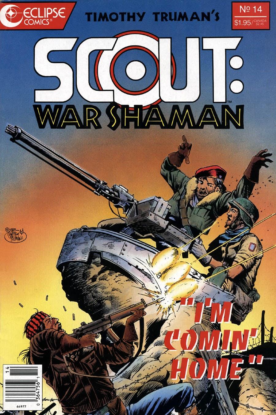 Scout: War Shaman 14 Page 1