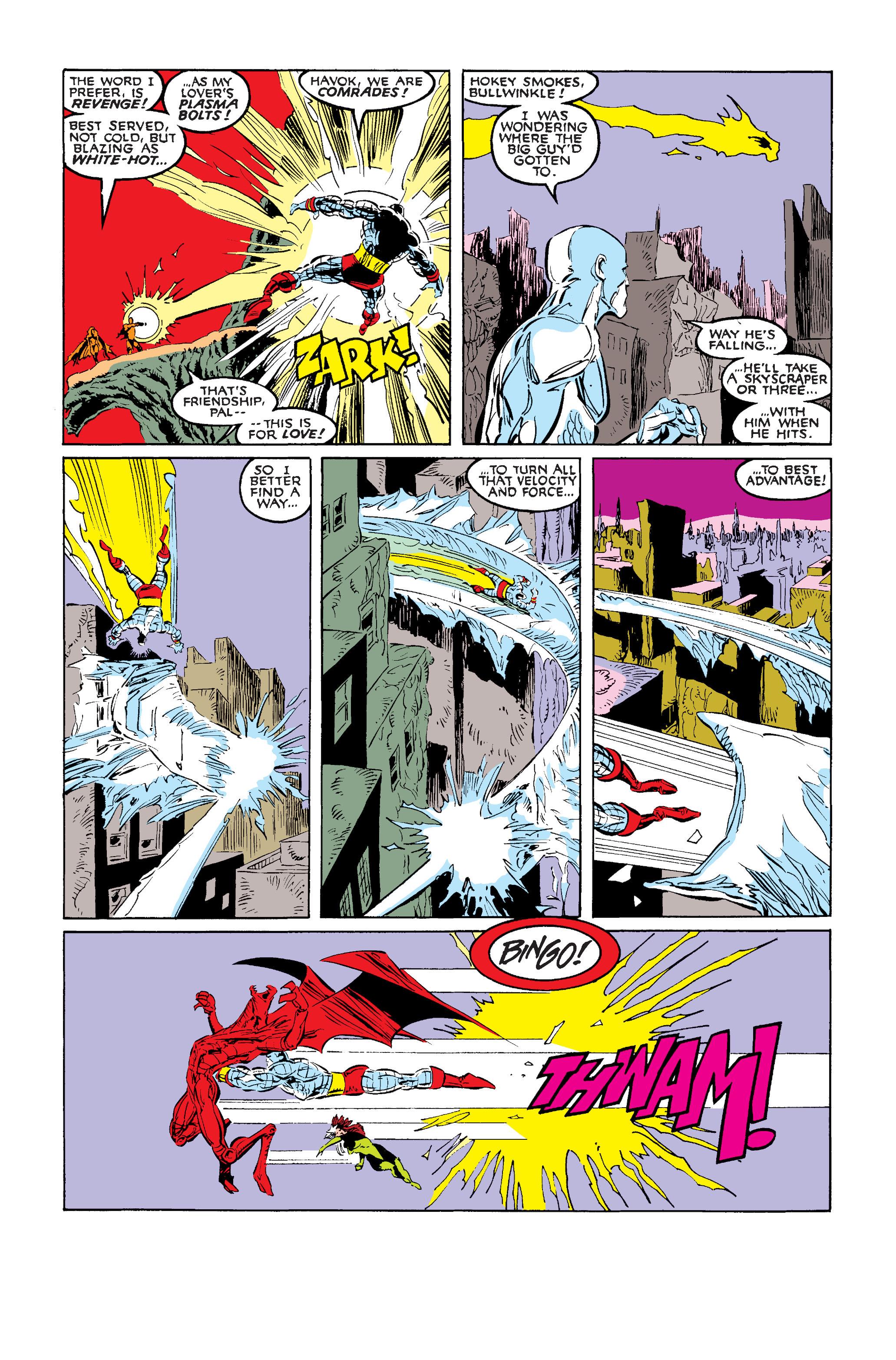 Read online Uncanny X-Men (1963) comic -  Issue #242 - 27