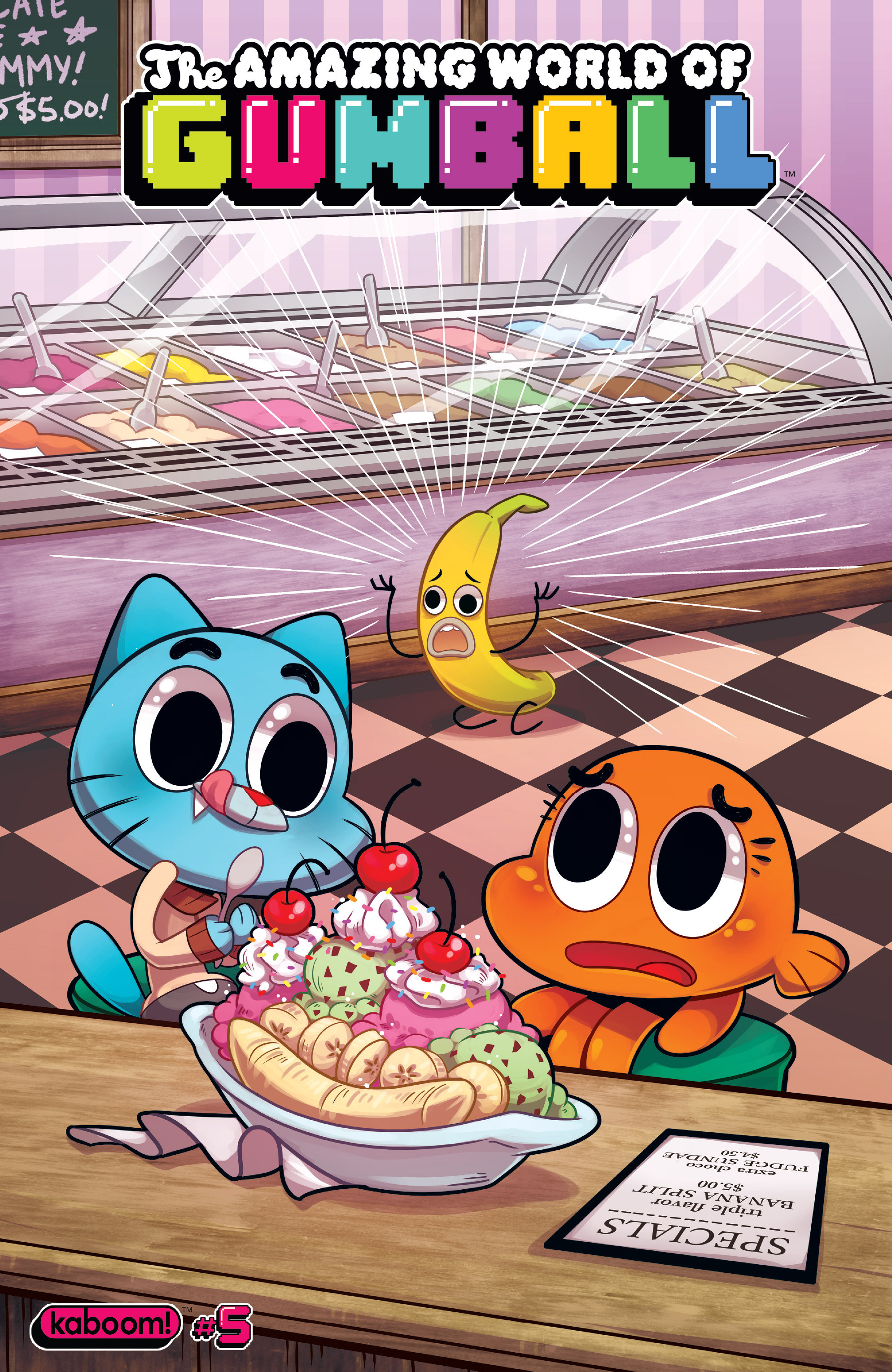 The Amazing World of Gumball 5 Page 1