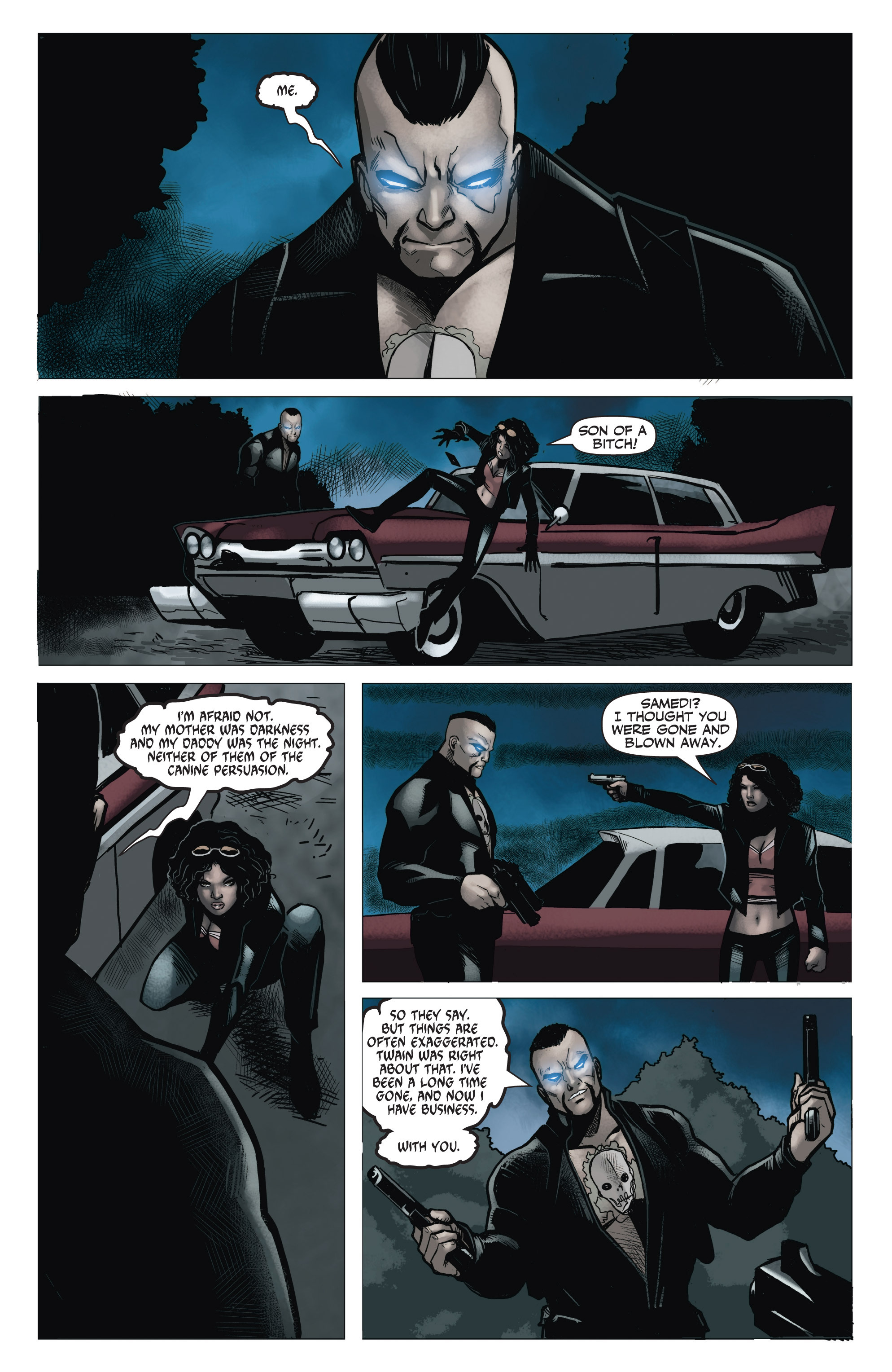 Read online Shadowman (2012) comic -  Issue #6 - 17