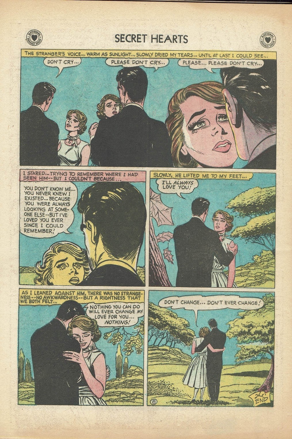 Read online Secret Hearts comic -  Issue #47 - 34