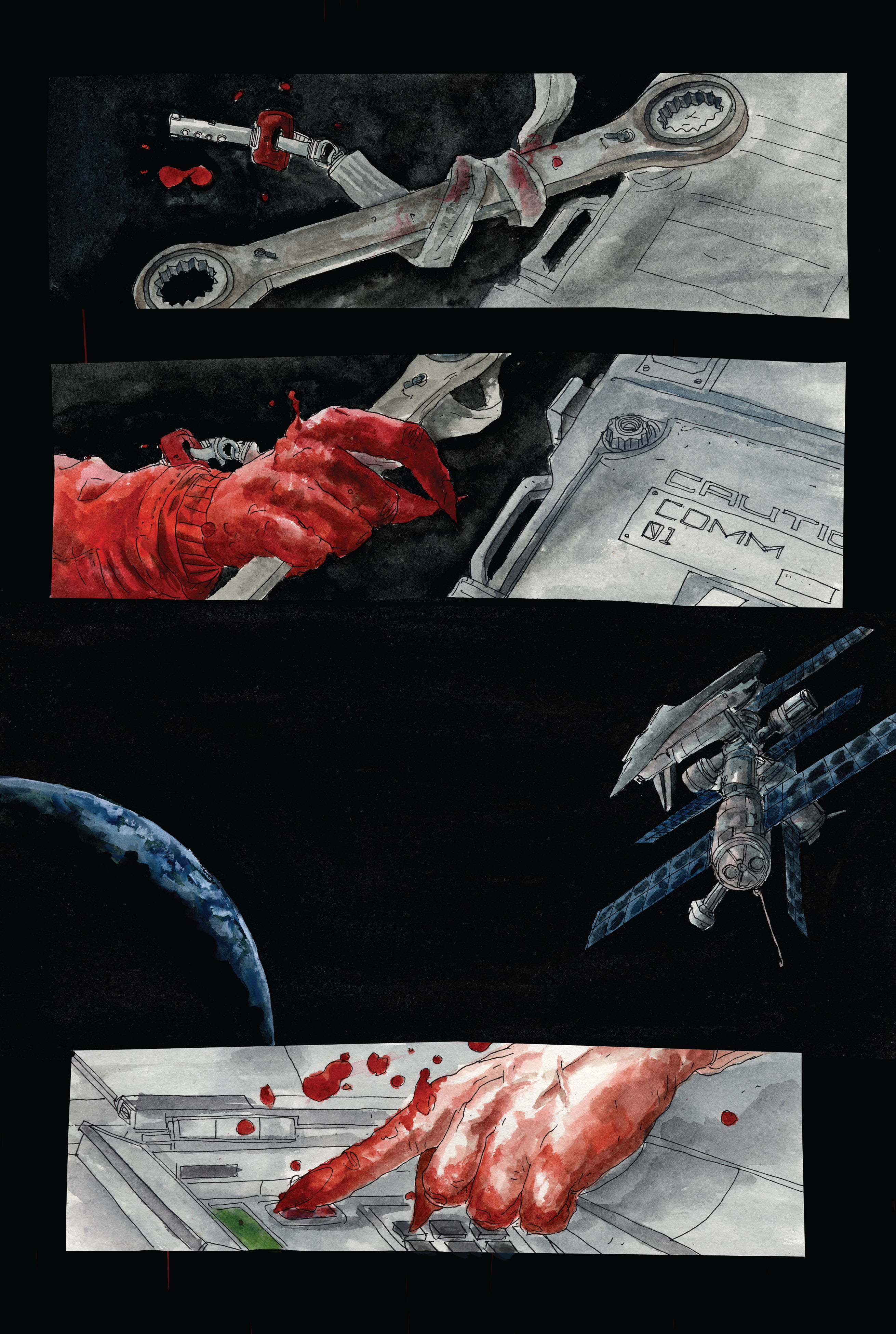 30 Days of Night: Dead Space 3 Page 14