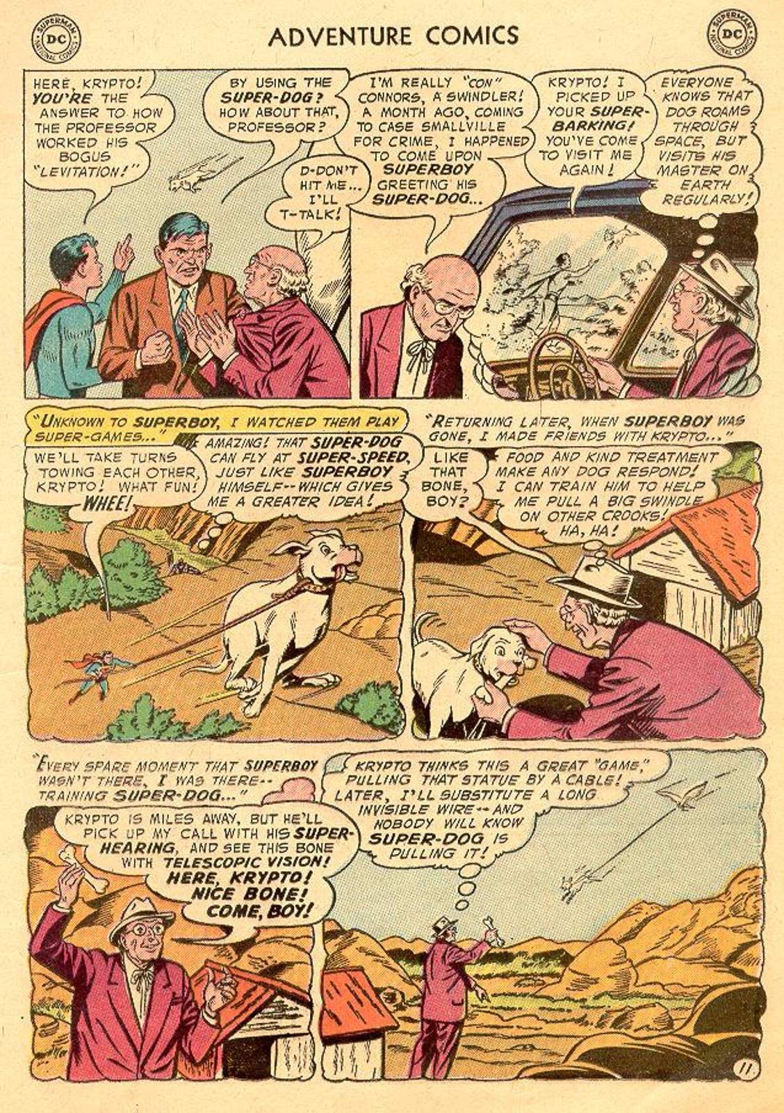 Read online Adventure Comics (1938) comic -  Issue #226 - 13