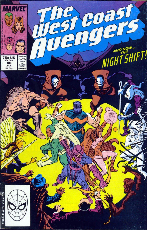West Coast Avengers (1985) 40 Page 1