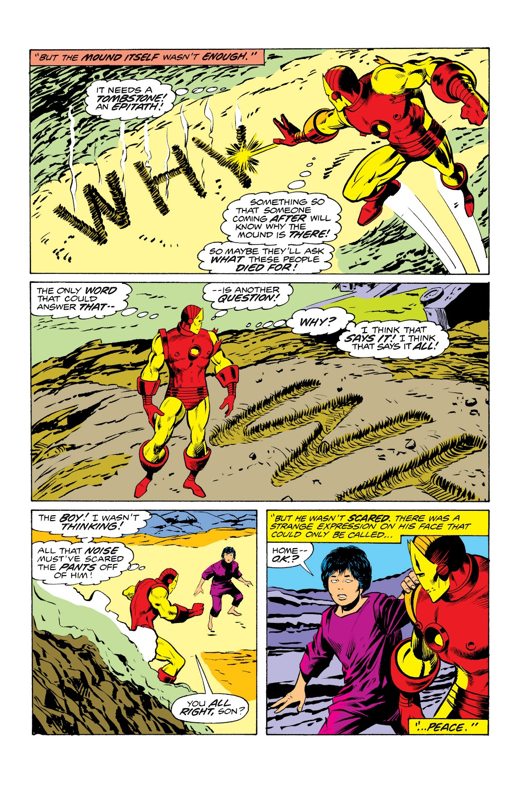 Read online Marvel Masterworks: The Invincible Iron Man comic -  Issue # TPB 10 (Part 2) - 91