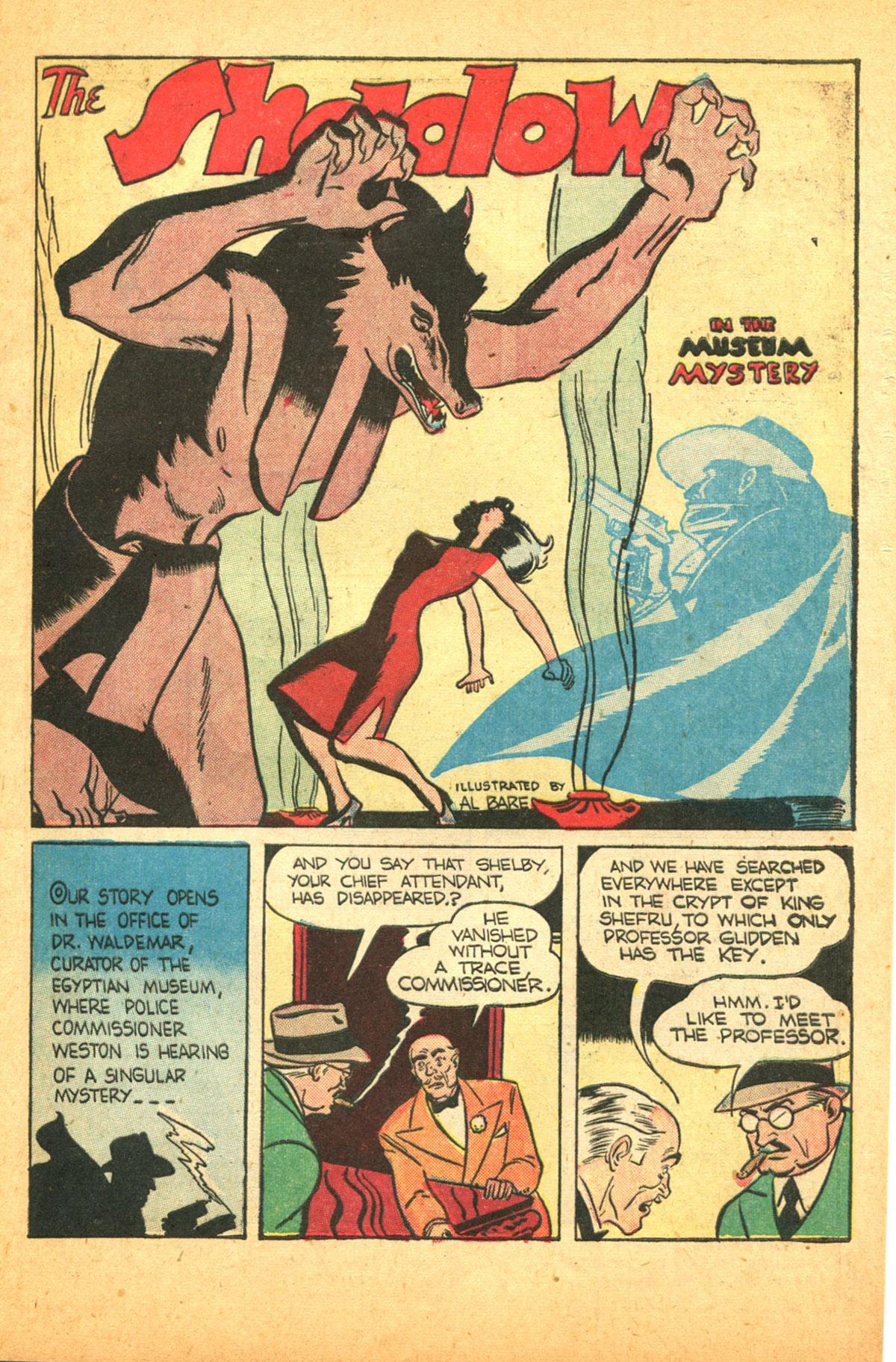 Read online Shadow Comics comic -  Issue #38 - 17