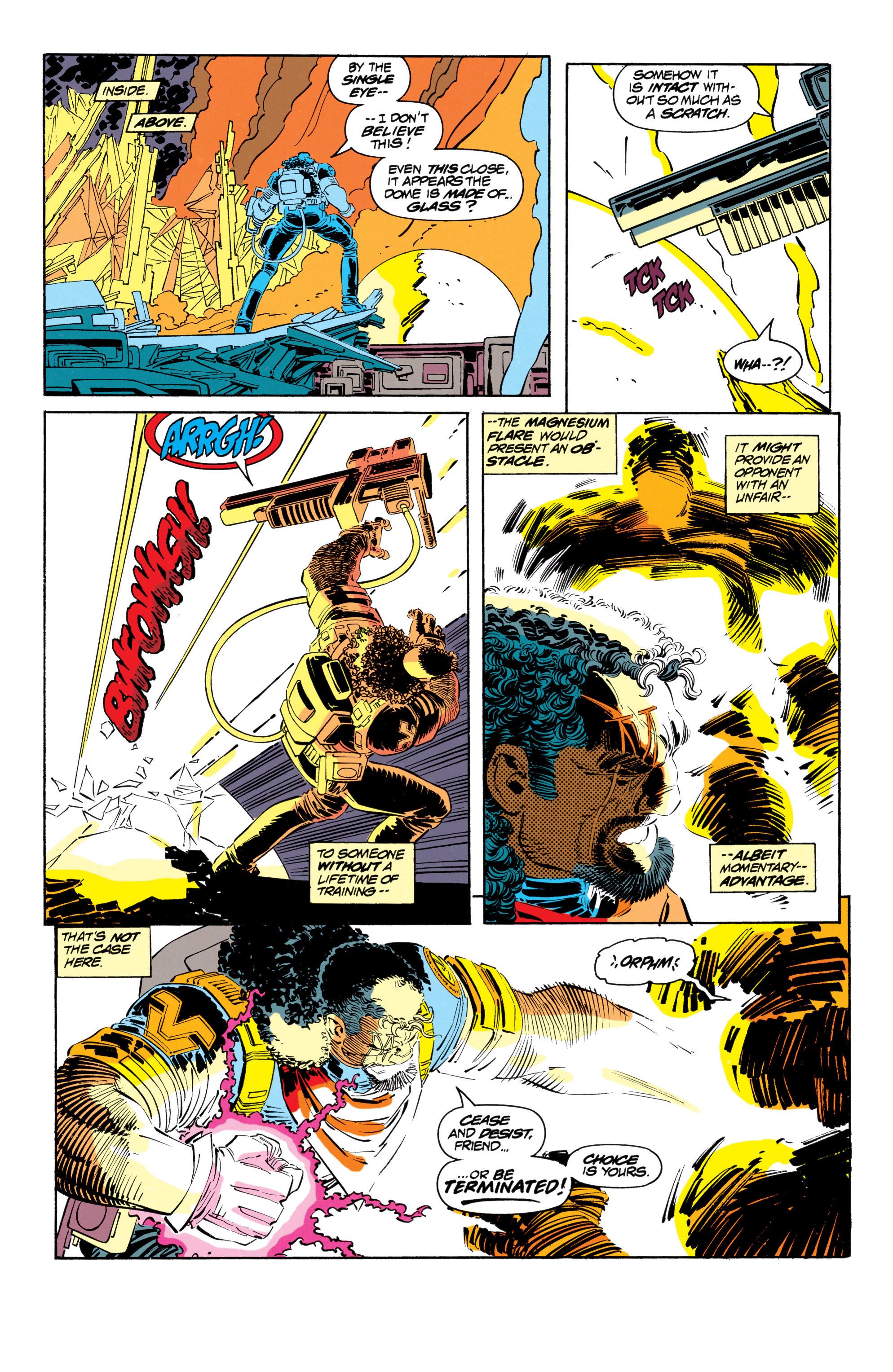 Read online Uncanny X-Men (1963) comic -  Issue #302 - 10