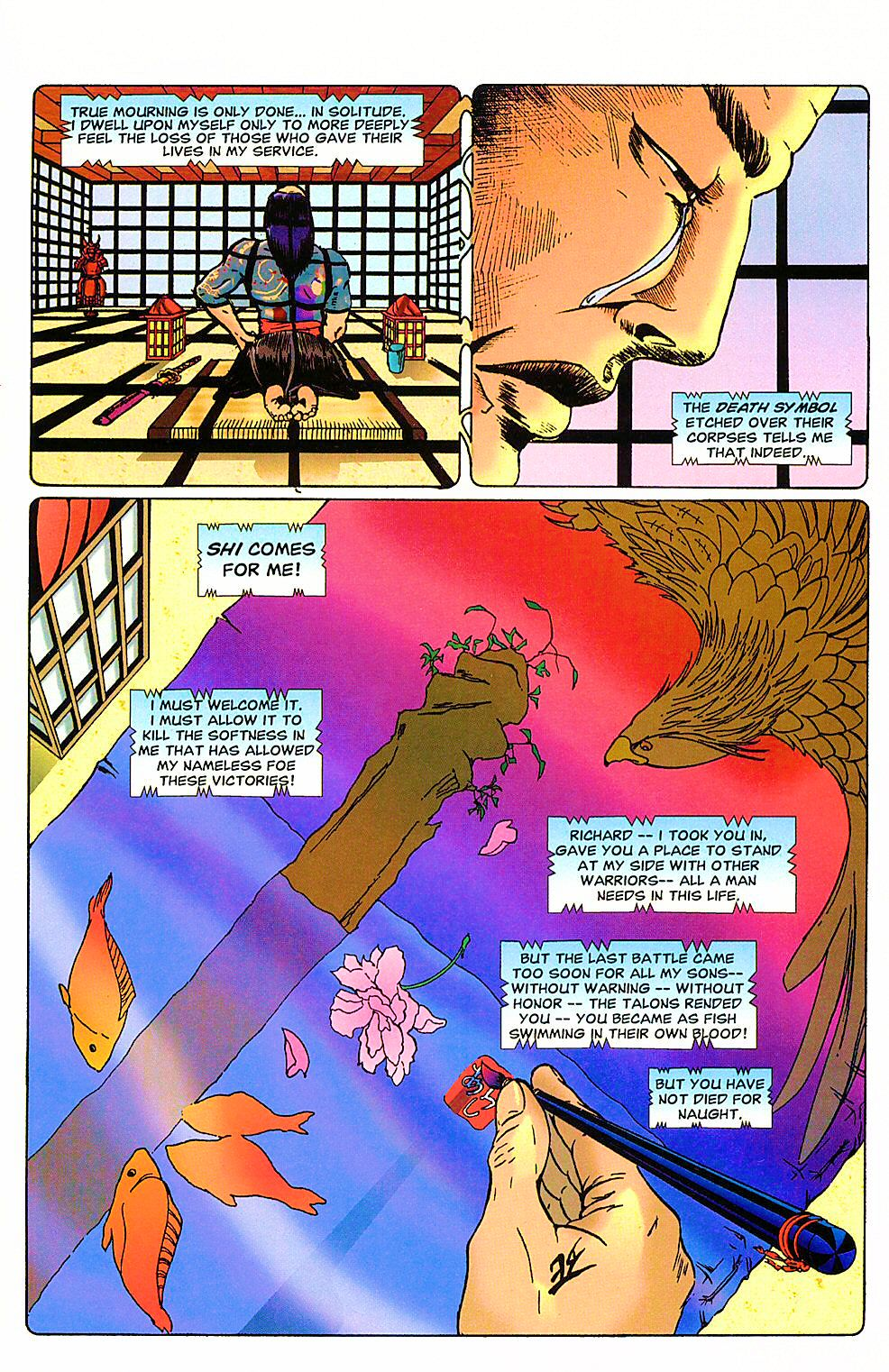 Read online Shi: The Way of the Warrior comic -  Issue #4 - 25