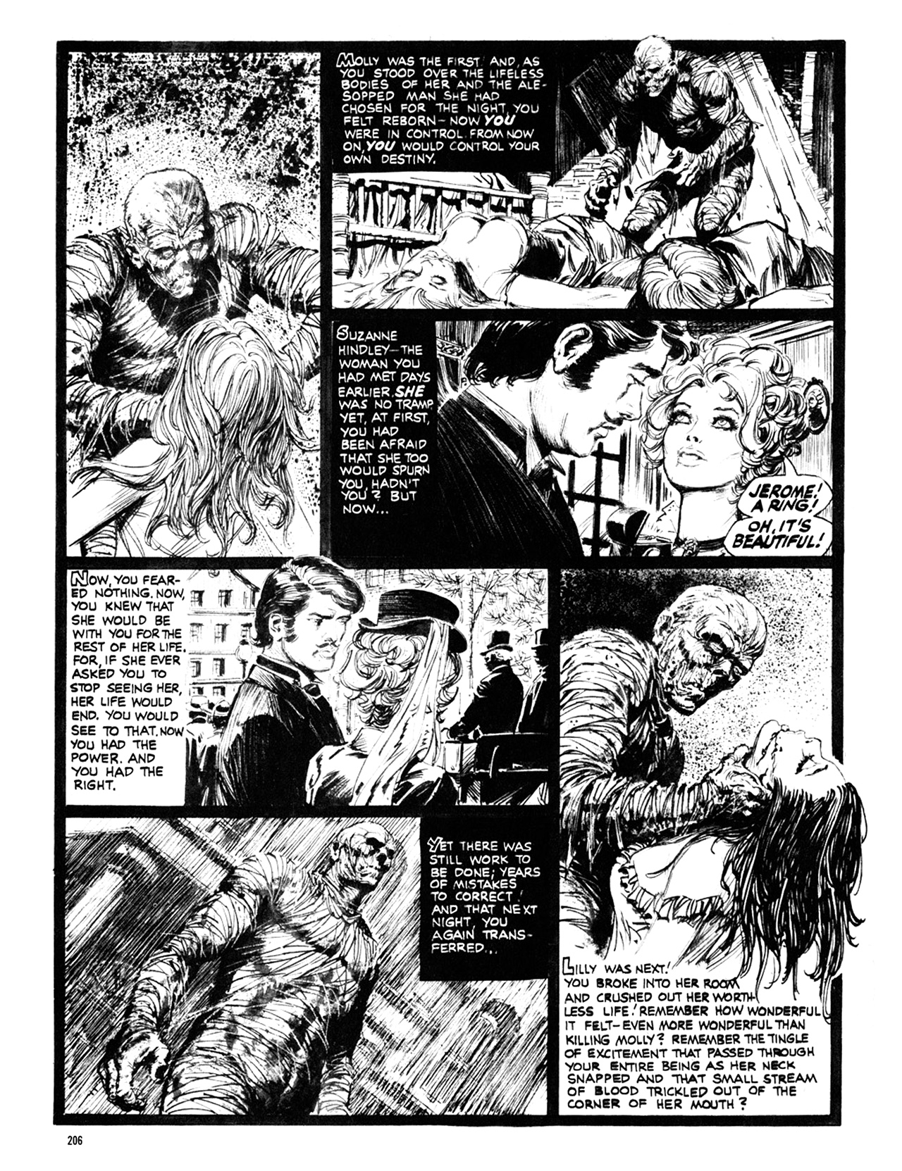 Read online Eerie Archives comic -  Issue # TPB 10 - 207