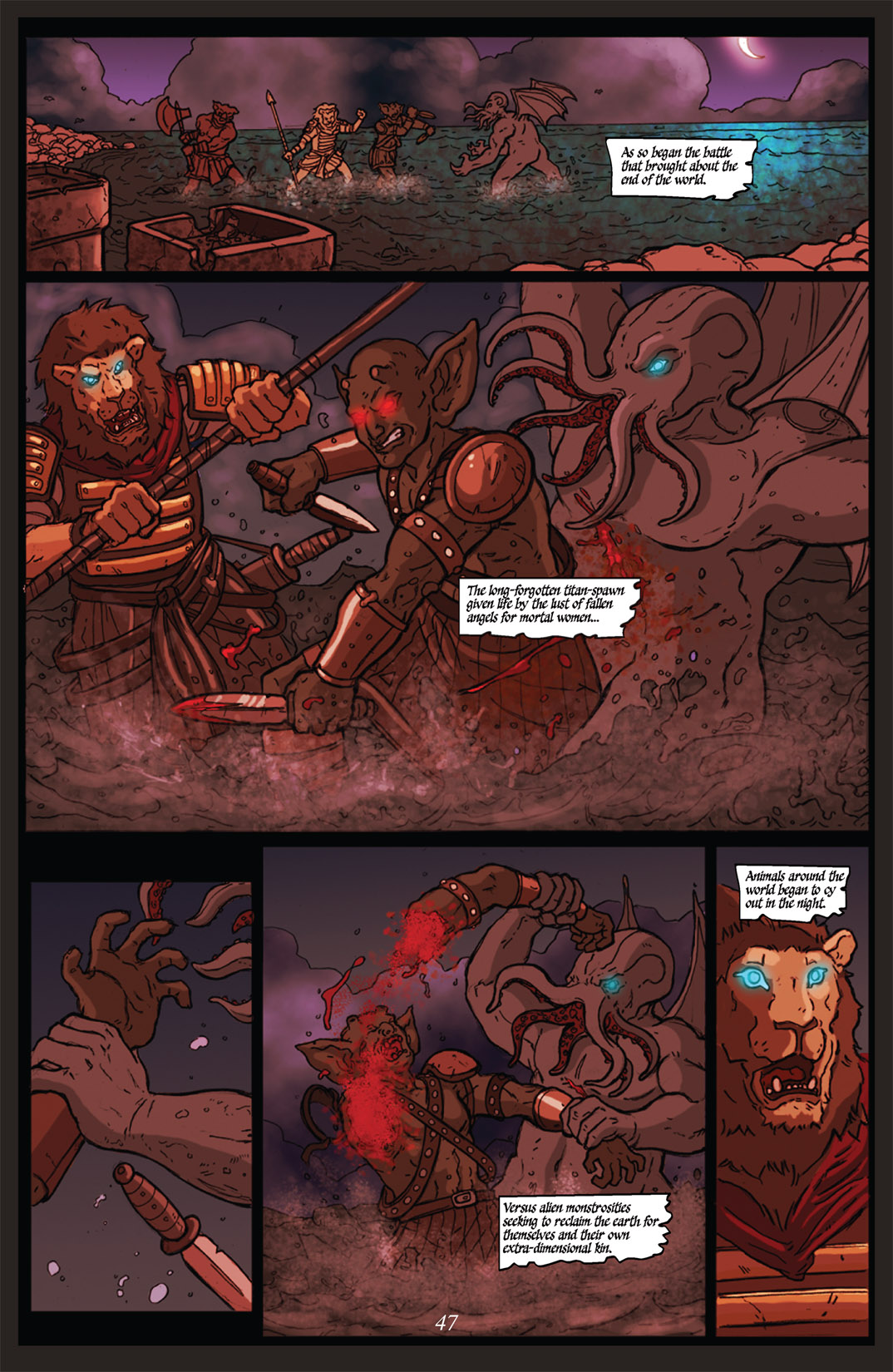 Read online Nightmare World comic -  Issue # Vol. 2 Leave the Light On - 48