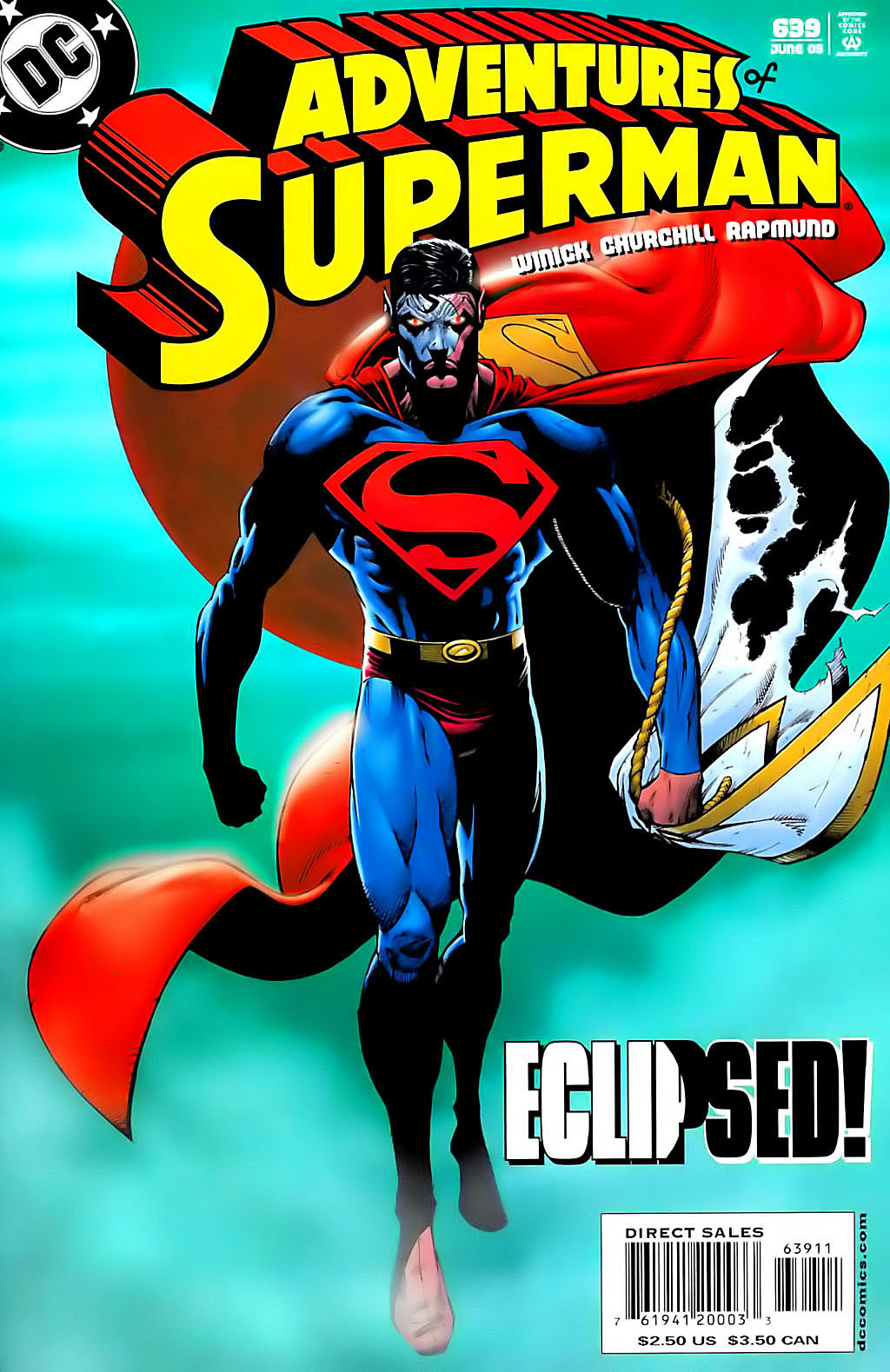 Read online Adventures of Superman (1987) comic -  Issue #639 - 1
