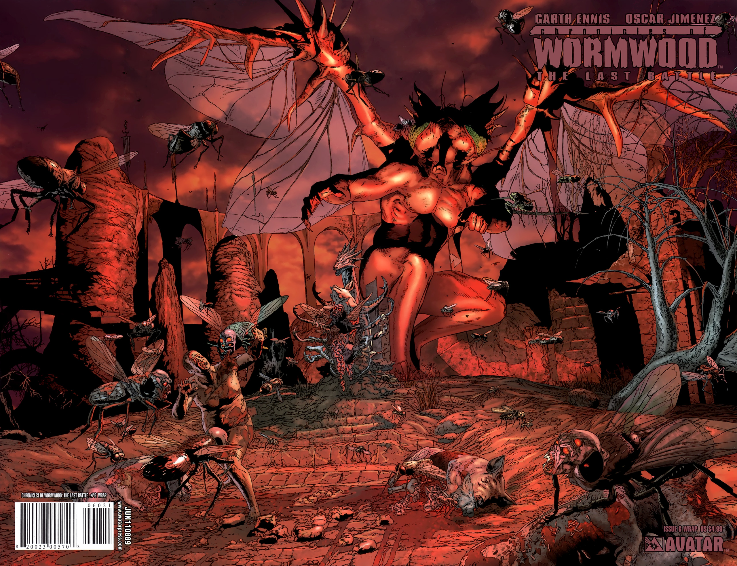 Read online Chronicles of Wormwood: The Last Battle comic -  Issue #6 - 2