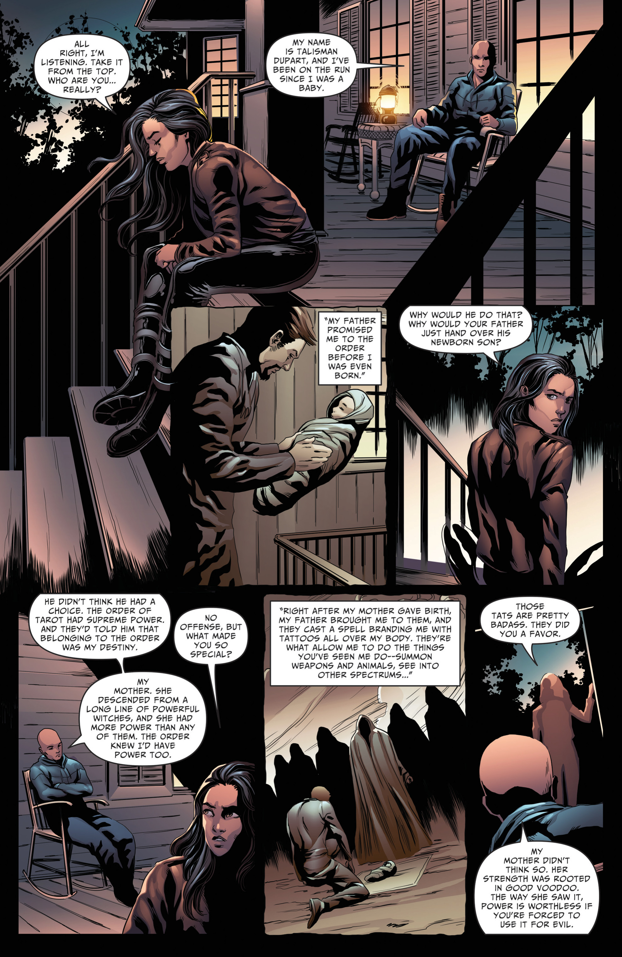 Read online Grimm Fairy Tales: Day of the Dead comic -  Issue #4 - 8