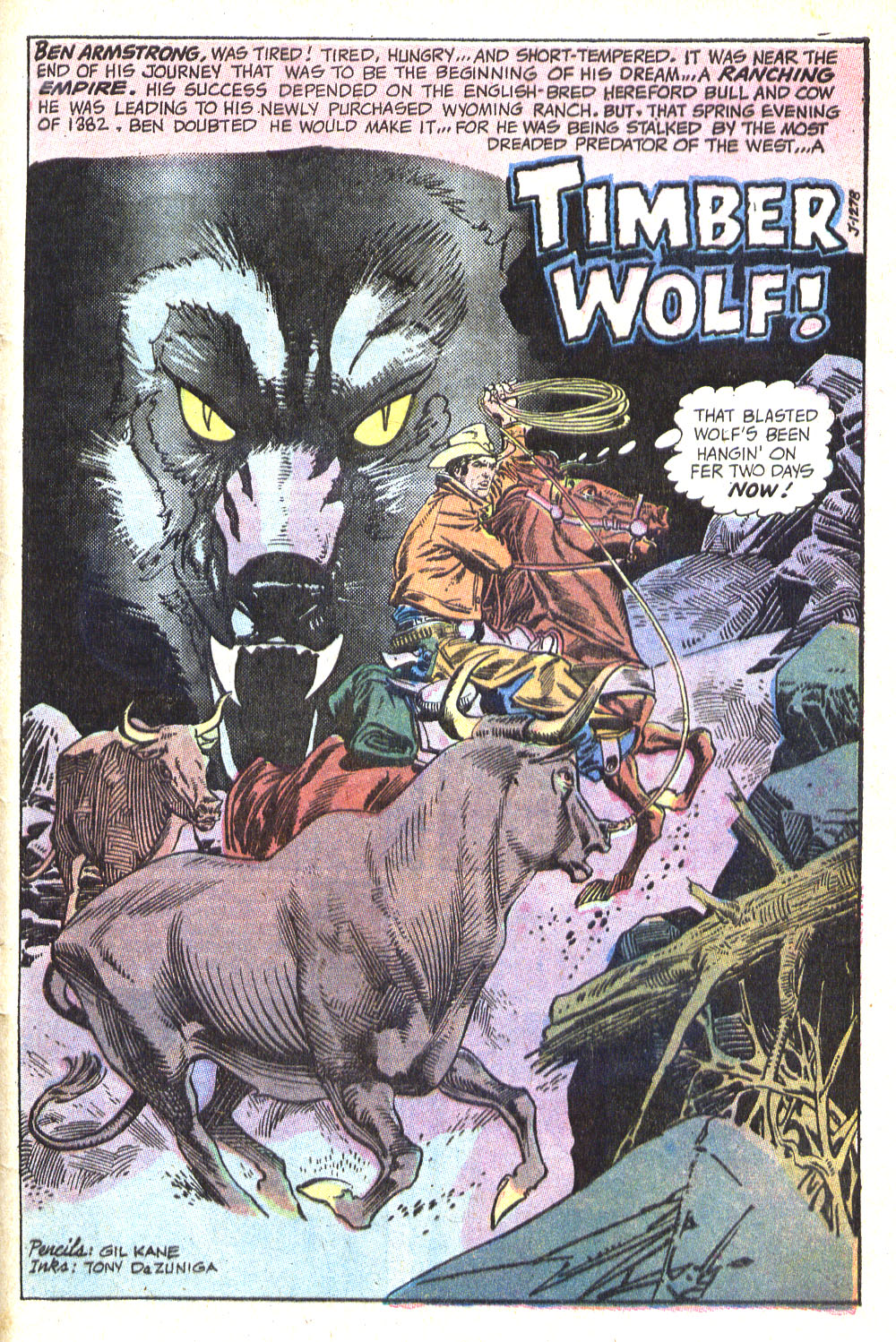 Read online All-Star Western (1970) comic -  Issue #8 - 37