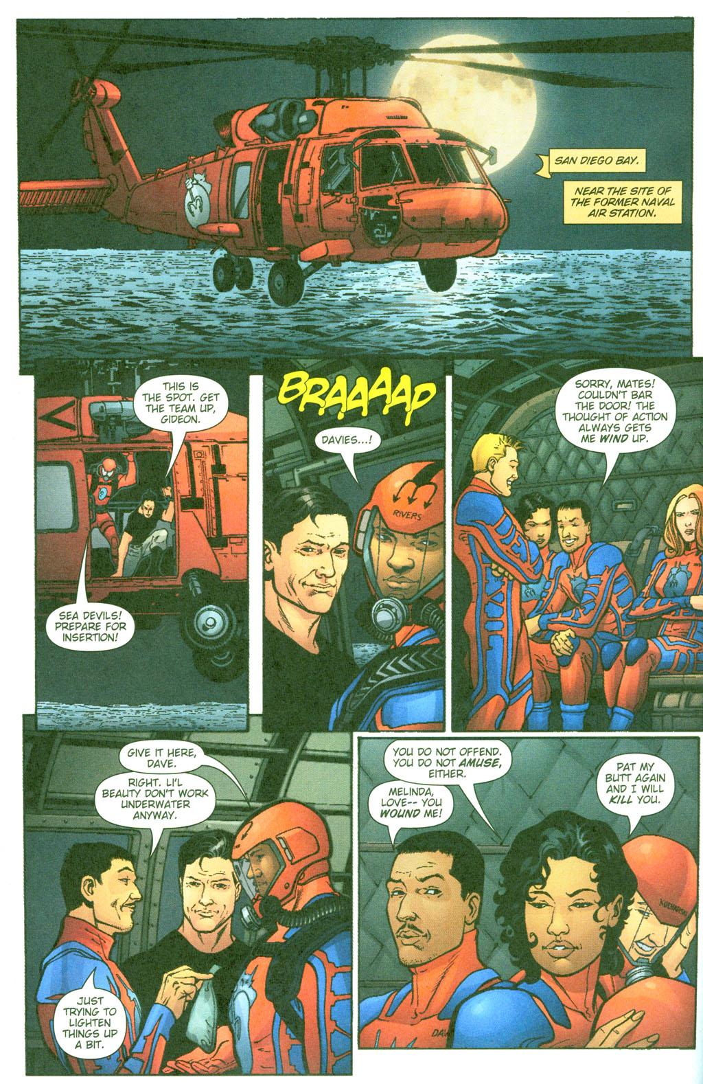Read online Aquaman (2003) comic -  Issue #23 - 11