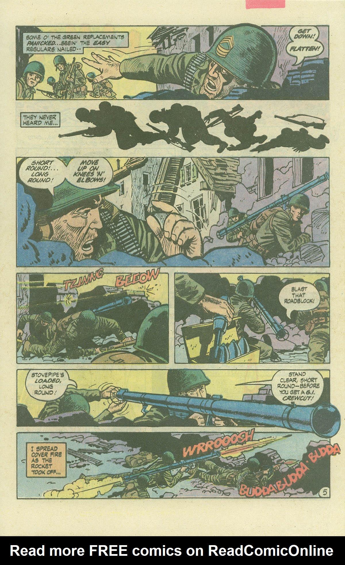 Read online Sgt. Rock comic -  Issue #382 - 8