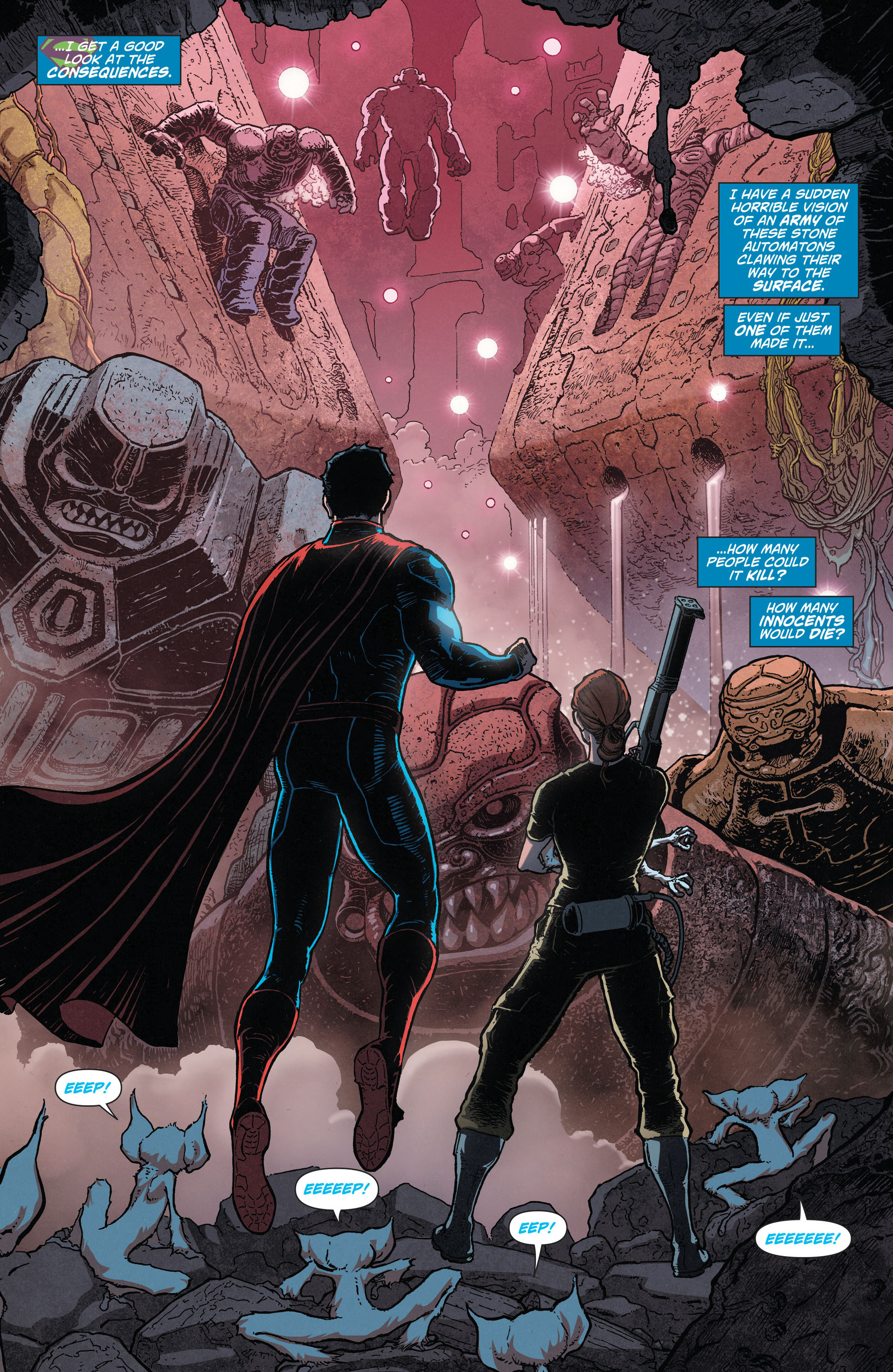 Read online Action Comics (2011) comic -  Issue #28 - 16