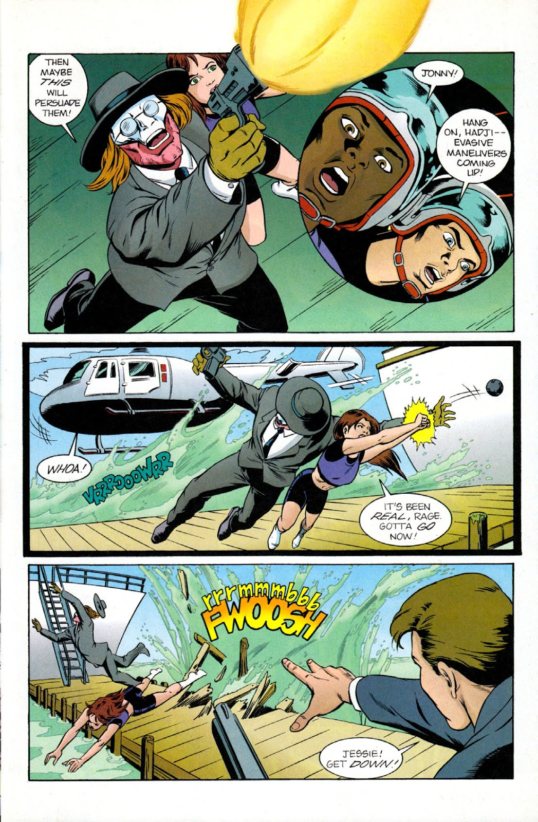 Read online The Real Adventures of Jonny Quest comic -  Issue #9 - 27