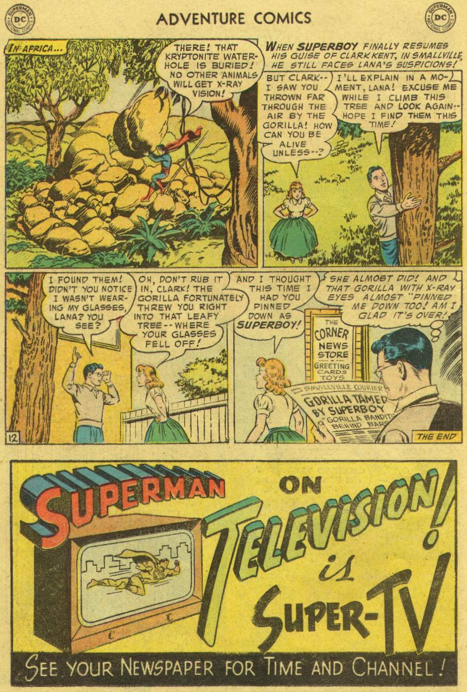 Read online Adventure Comics (1938) comic -  Issue #219 - 14