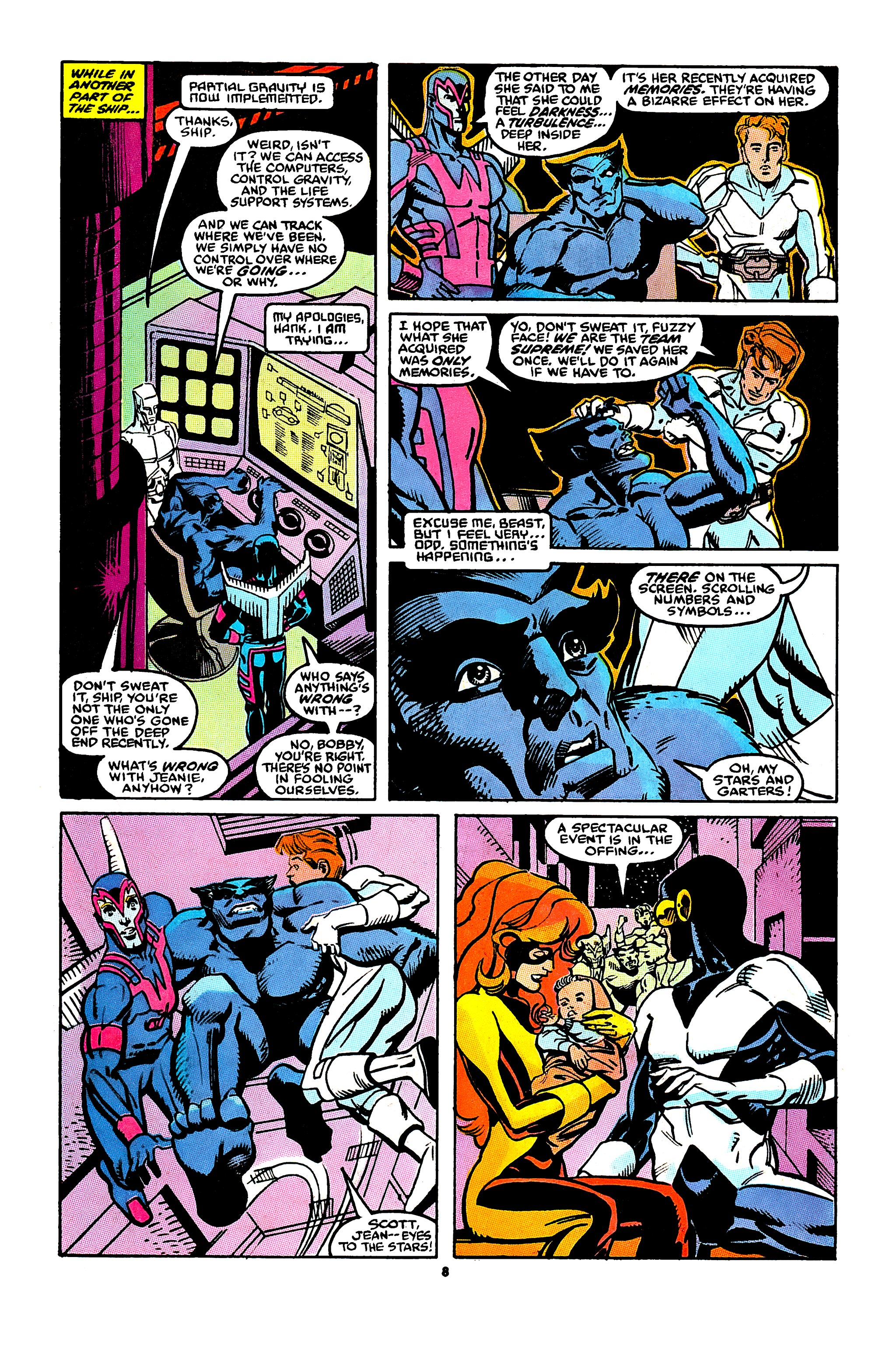 Read online X-Factor (1986) comic -  Issue #43 - 7