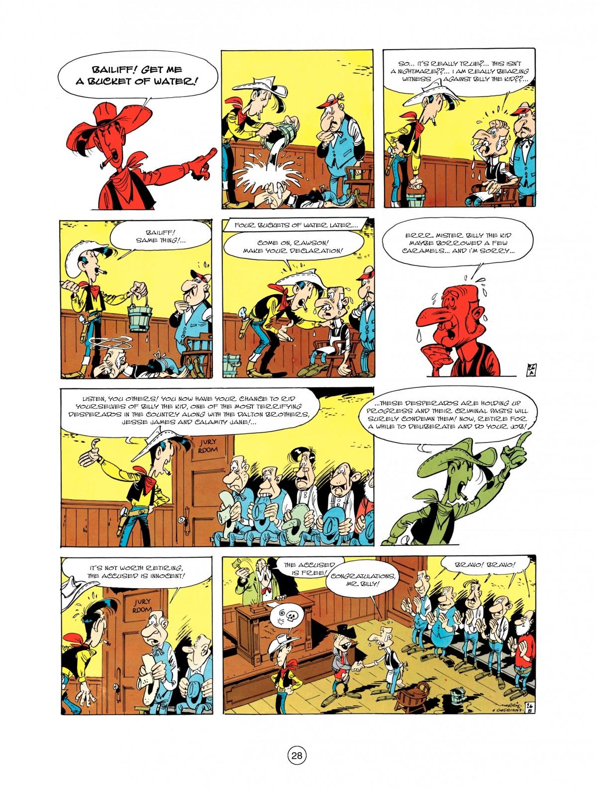 Read online A Lucky Luke Adventure comic -  Issue #1 - 30