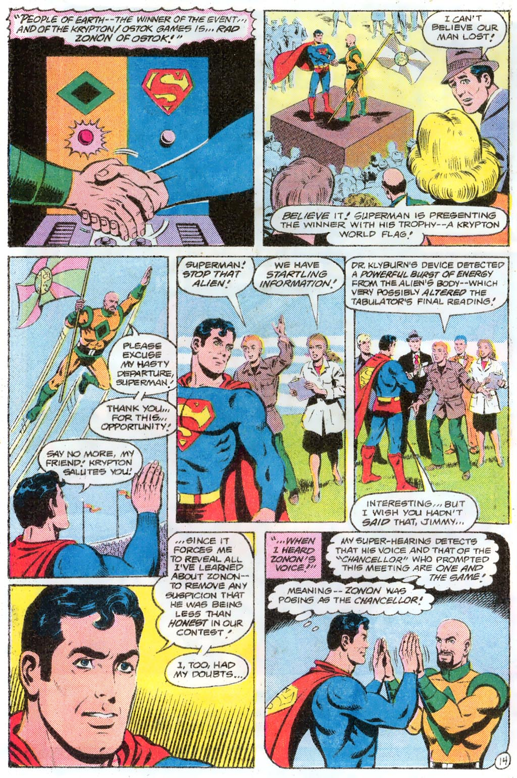 Read online Action Comics (1938) comic -  Issue #574 - 19