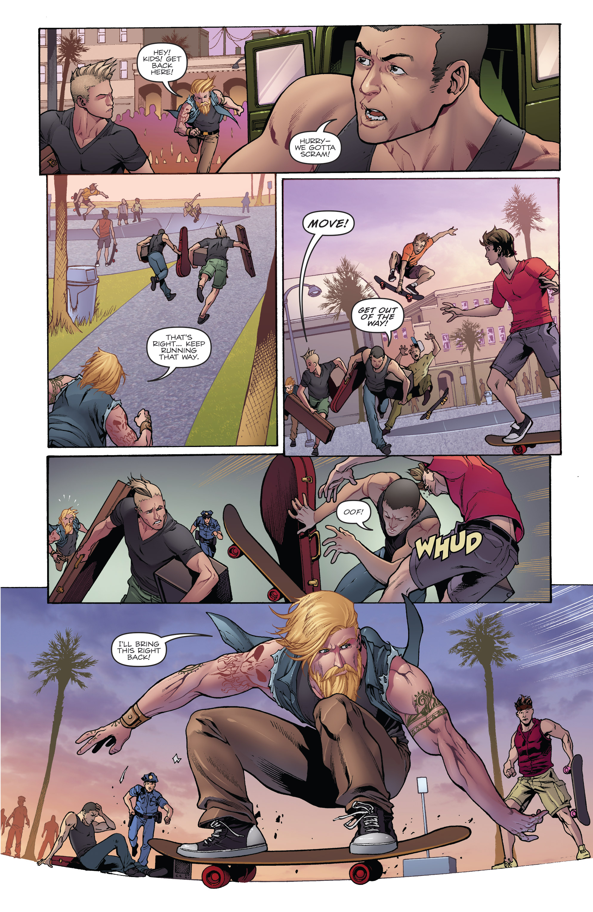 Read online Hasbro Heroes Sourcebook comic -  Issue #1 - 5