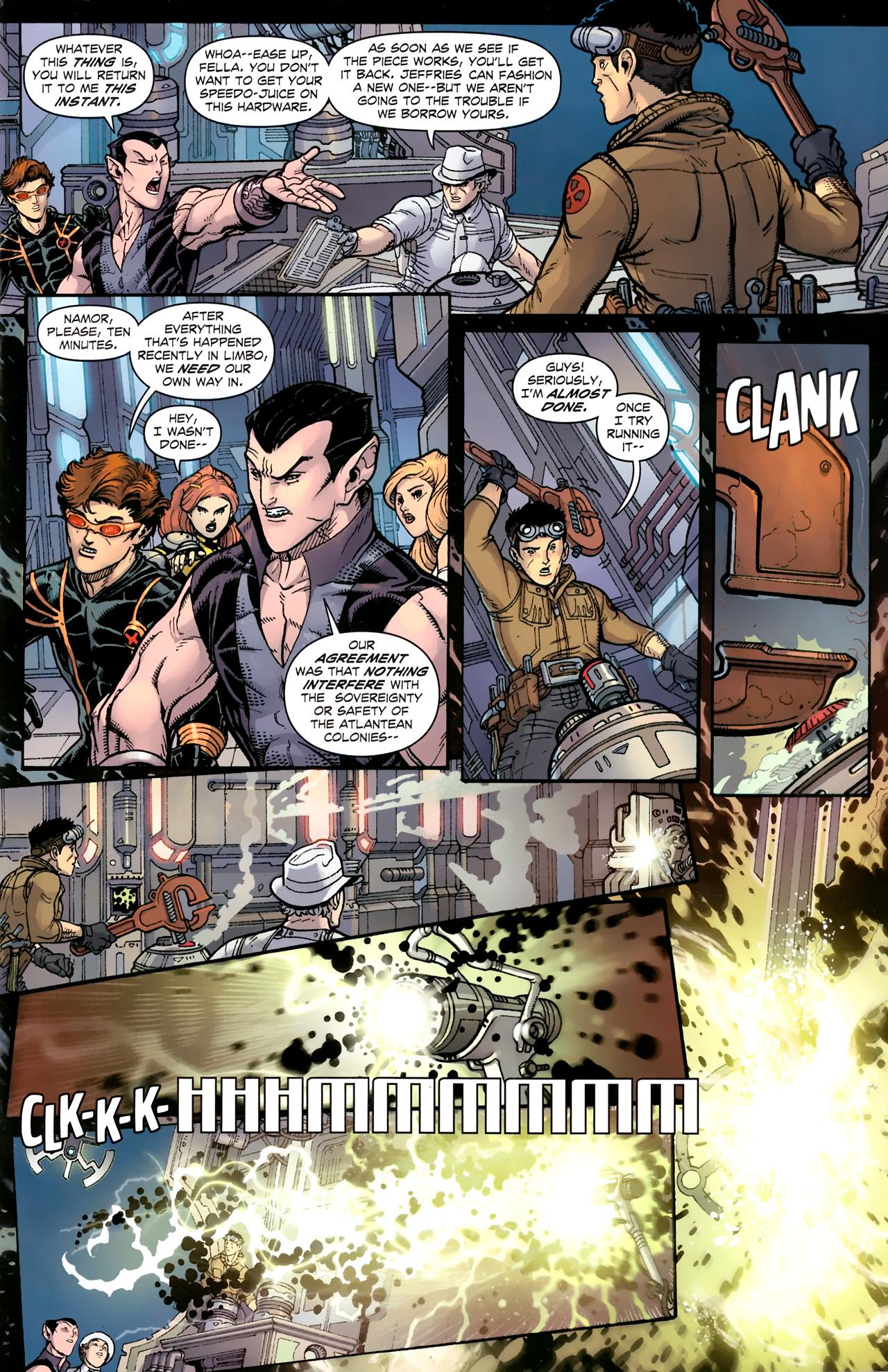 Read online Uncanny X-Men (1963) comic -  Issue # _Annual 3 (2011) - 6
