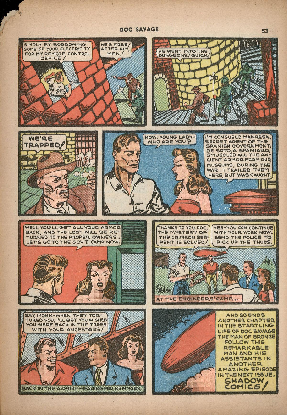 Read online Shadow Comics comic -  Issue #2 - 56