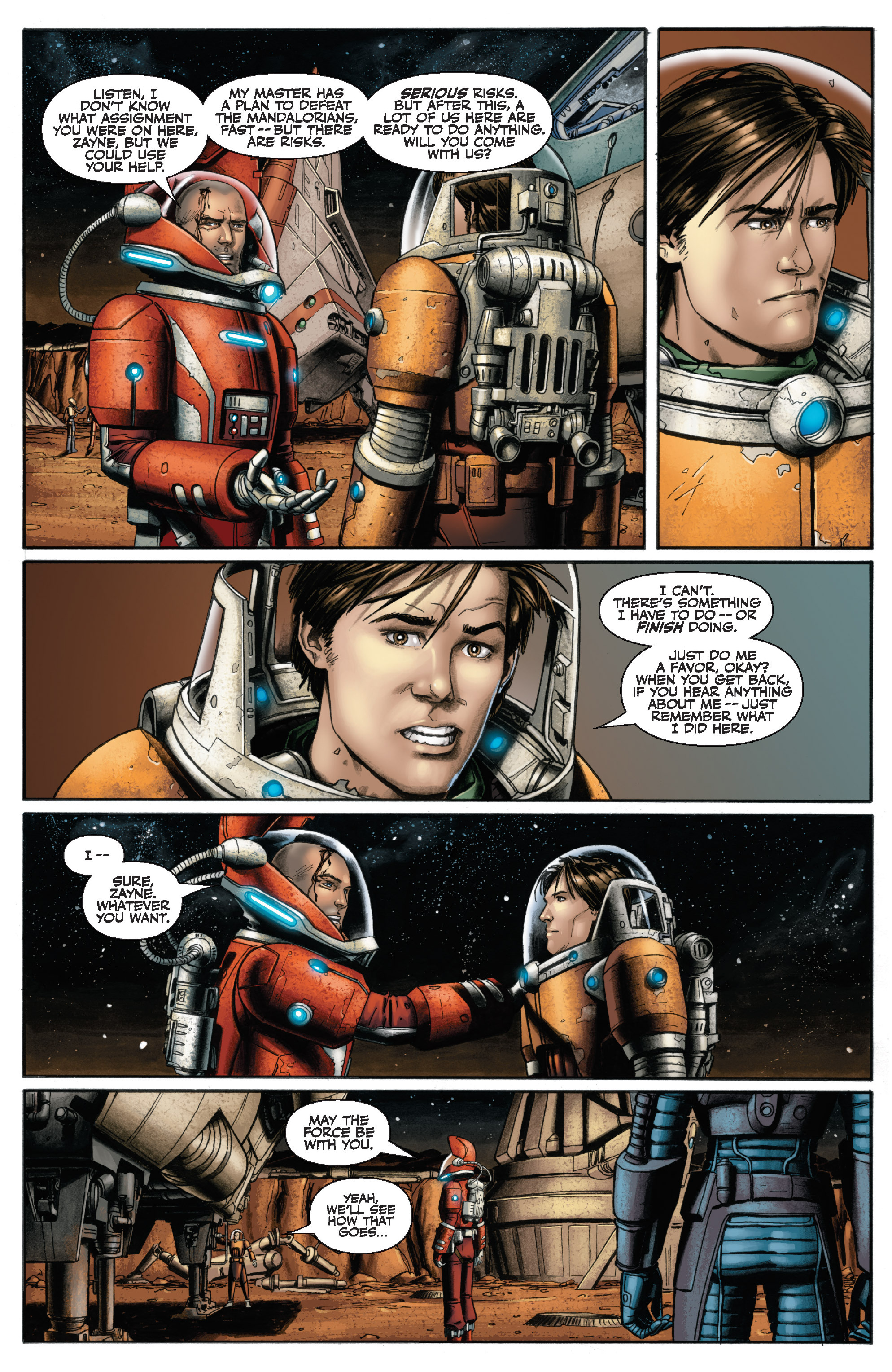 Read online Star Wars Omnibus comic -  Issue # Vol. 29 - 205