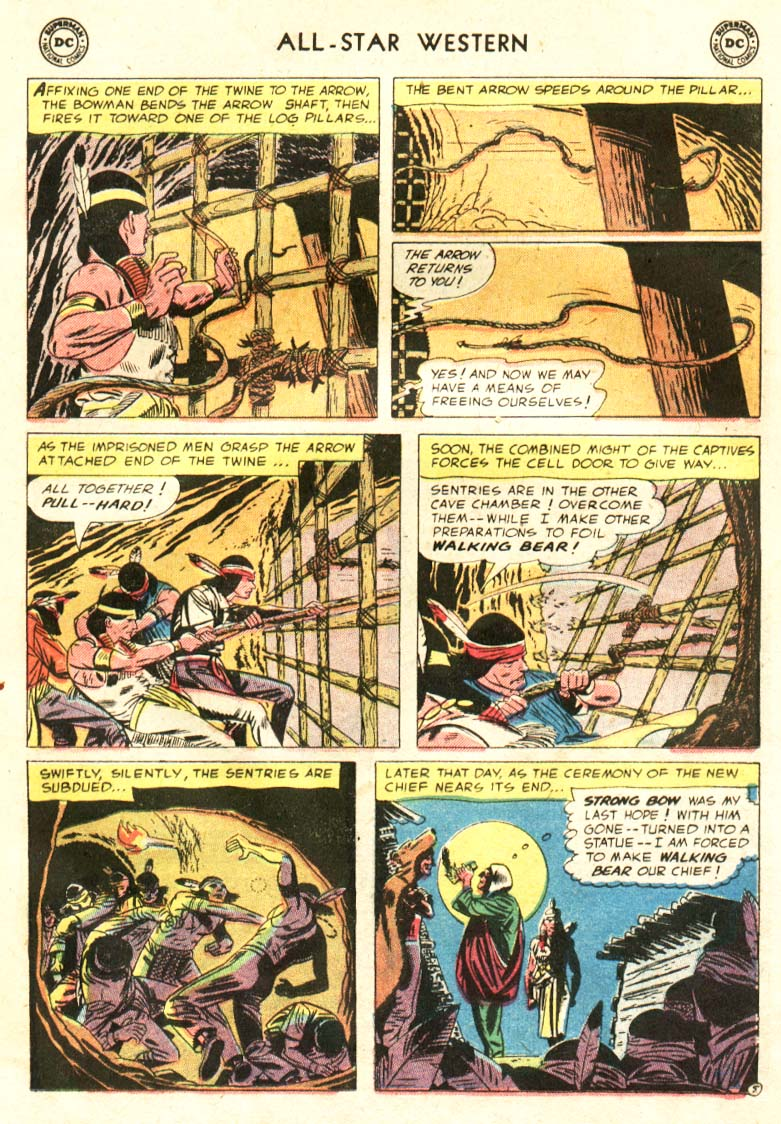 Read online All-Star Western (1951) comic -  Issue #91 - 12