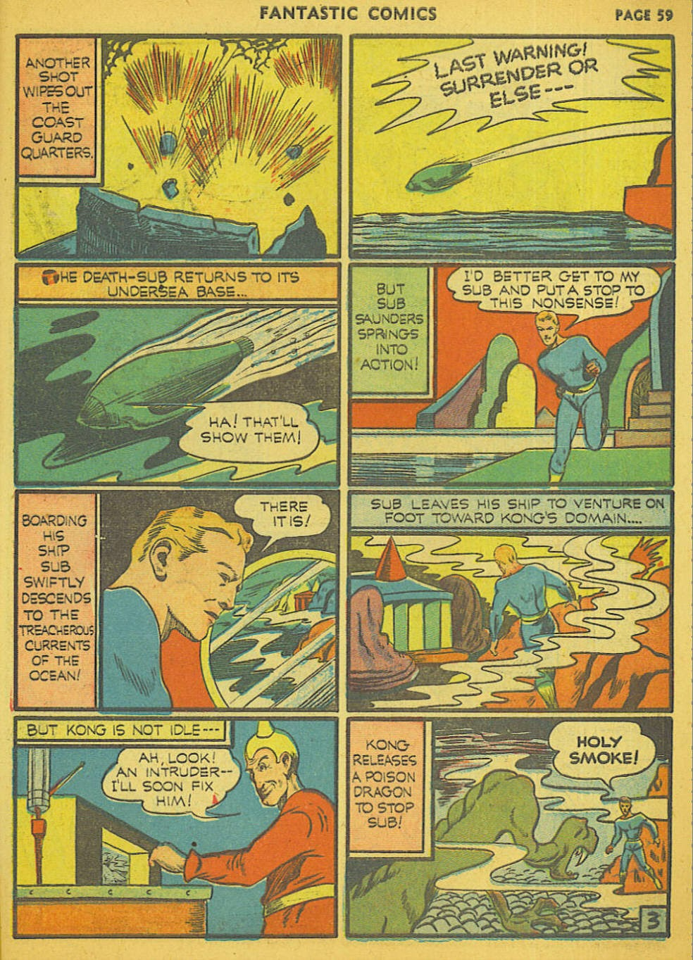 Read online Fantastic Comics comic -  Issue #15 - 54
