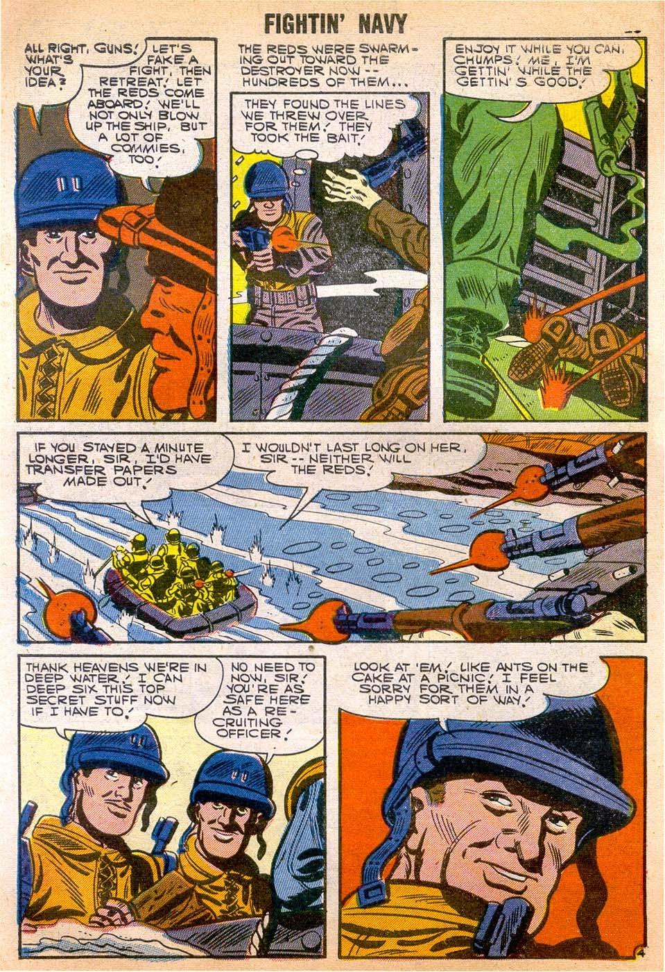 Read online Fightin' Navy comic -  Issue #79 - 30