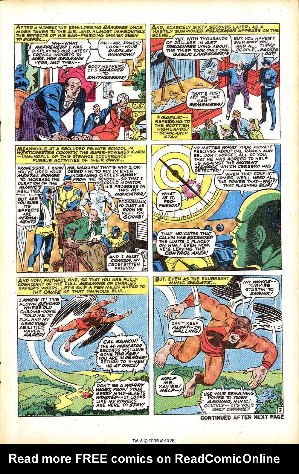 Uncanny X-Men (1963) 76 Page 4