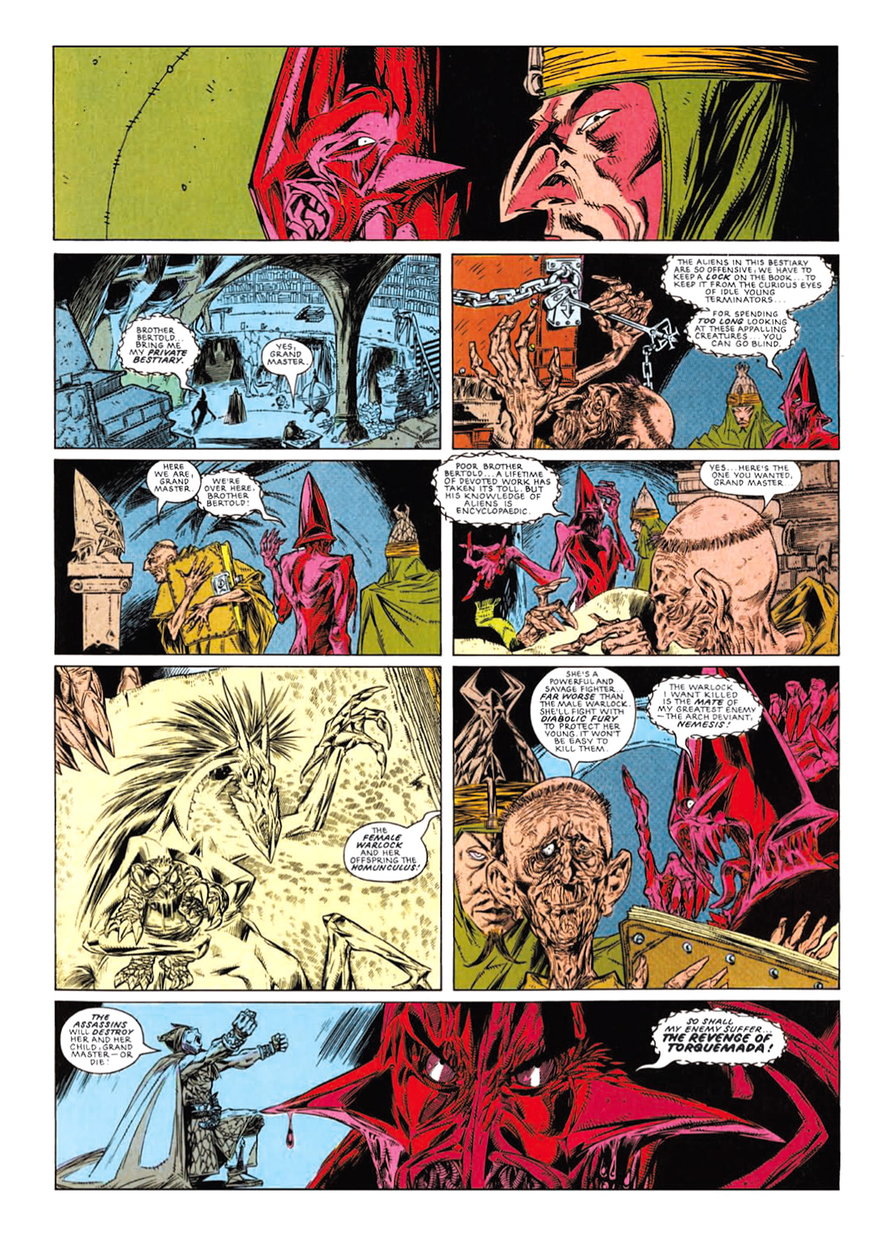 Read online Nemesis The Warlock comic -  Issue # TPB Deviant Edition - 172