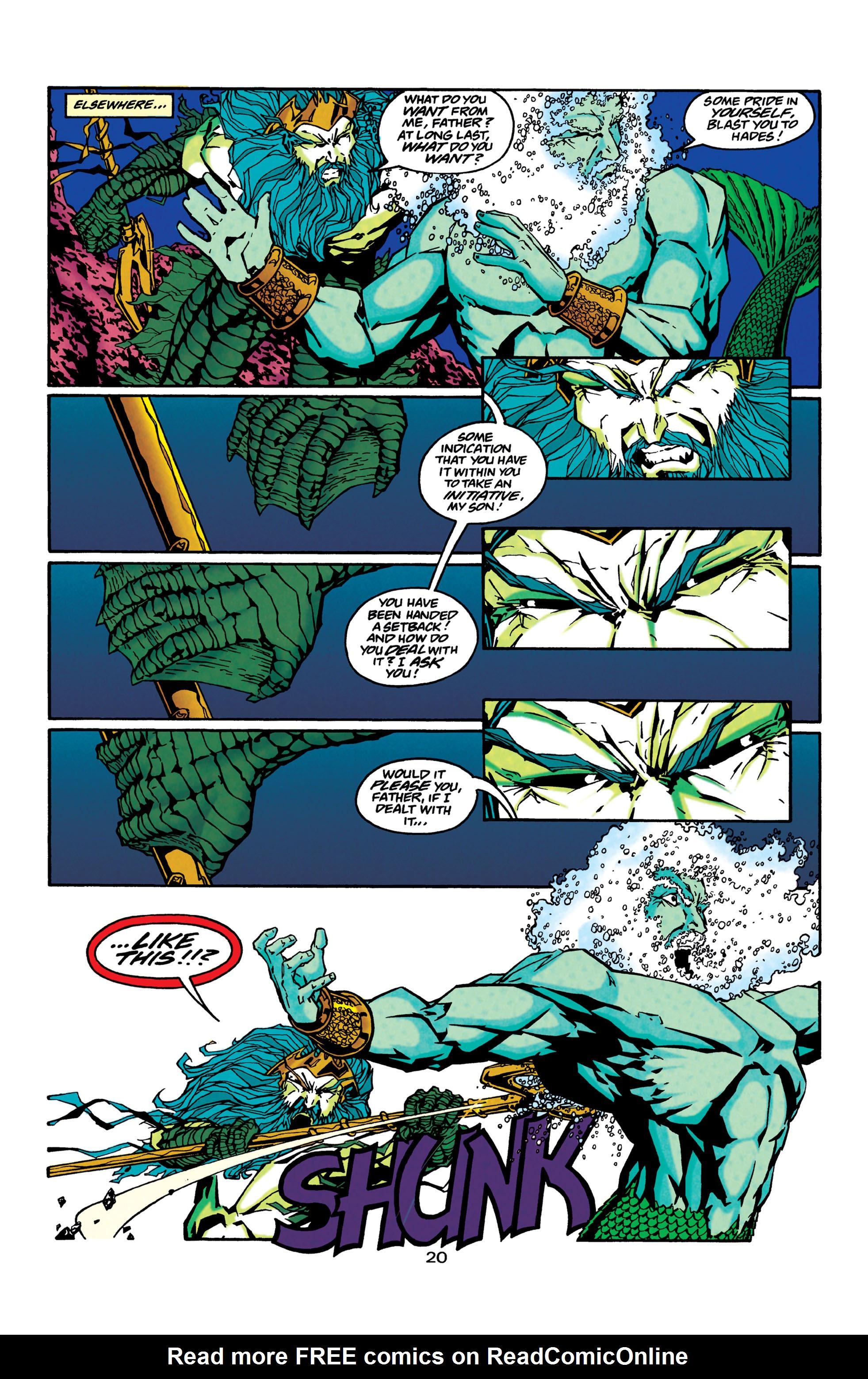 Read online Aquaman (1994) comic -  Issue #42 - 21