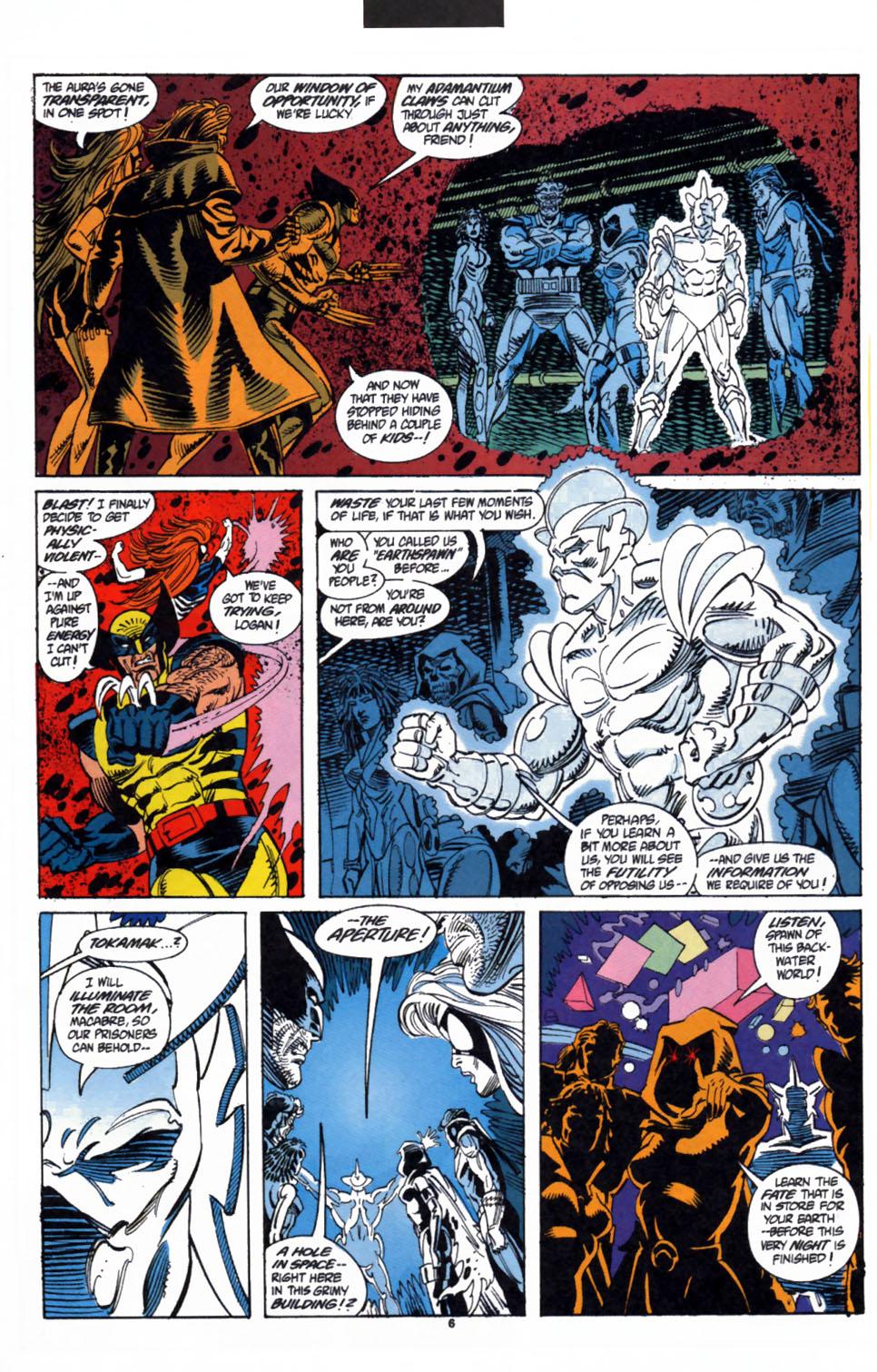Read online Secret Defenders comic -  Issue #3 - 6