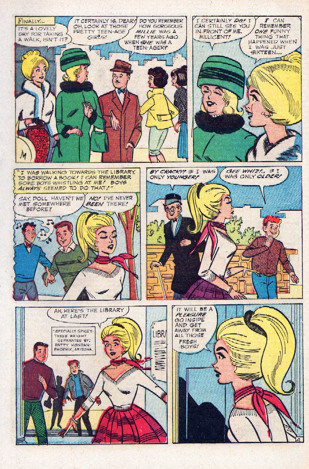 Read online Millie the Model comic -  Issue # Annual 2 - 35