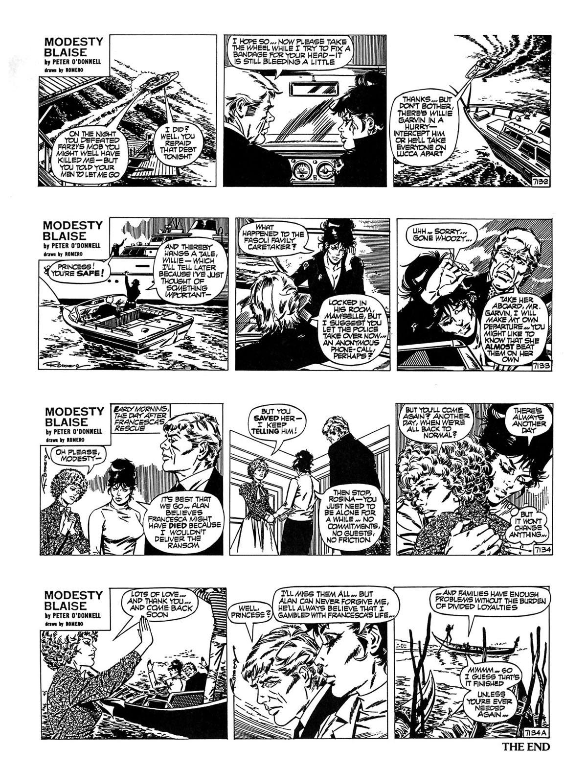 Read online Modesty Blaise Live bait comic -  Issue # TPB - 31
