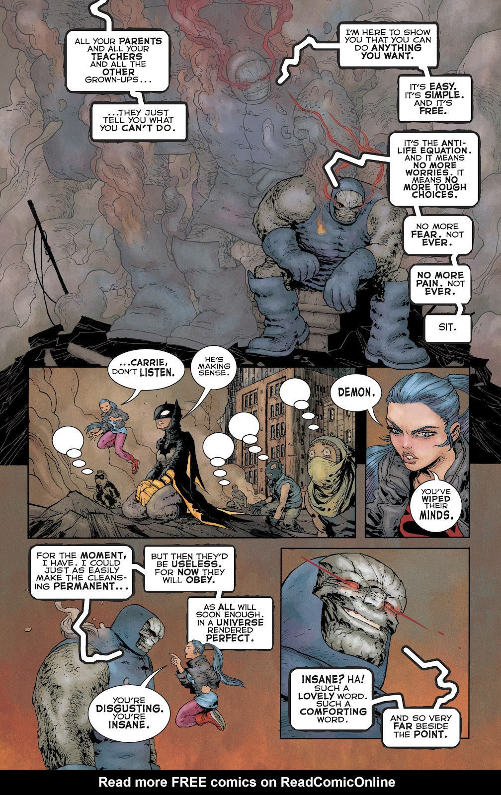 Dark Knight Returns: The Golden Child issue Full - Page 22