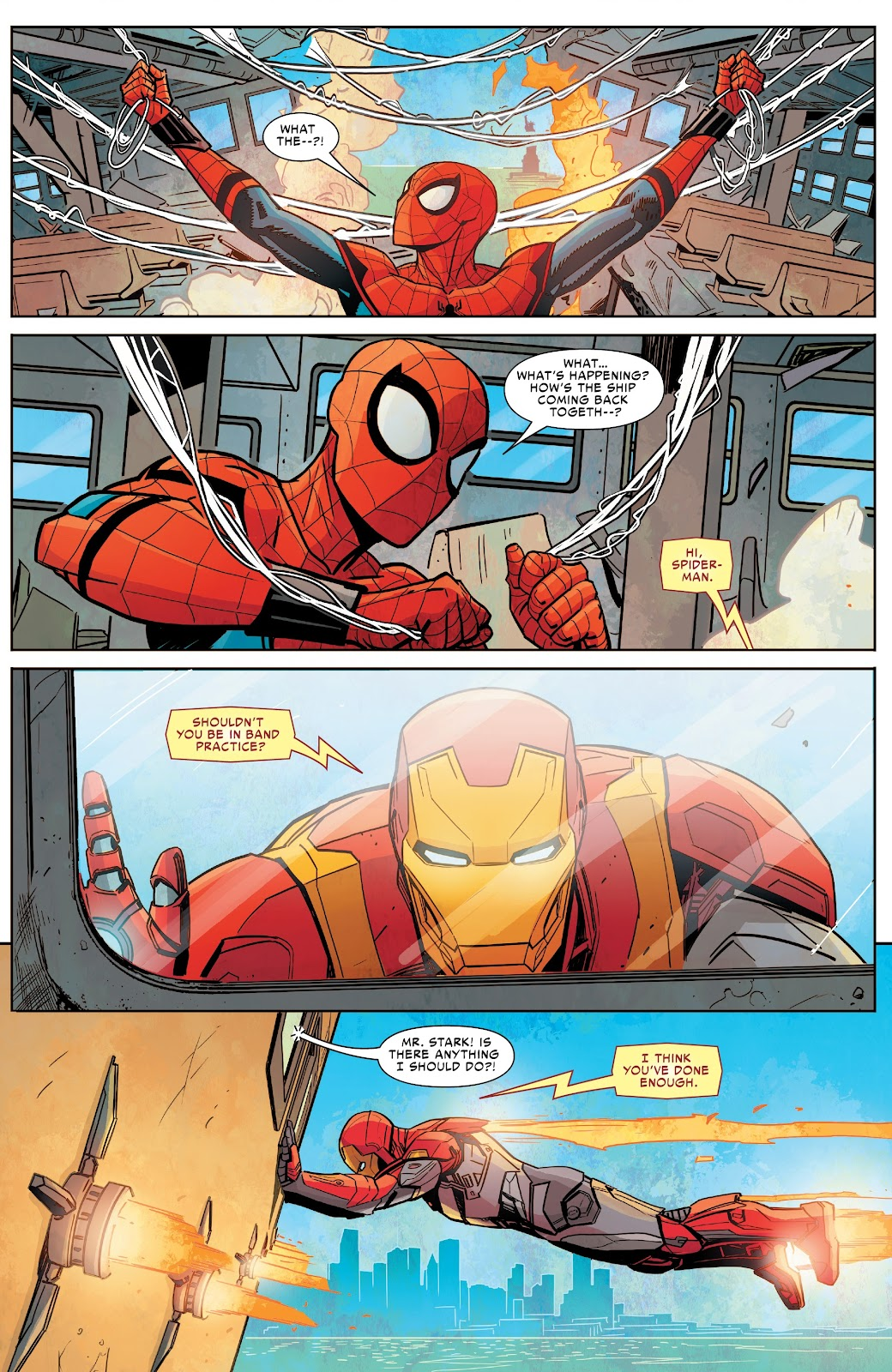 Read online Spider-Man: Far From Home Prelude comic -  Issue #2 - 12
