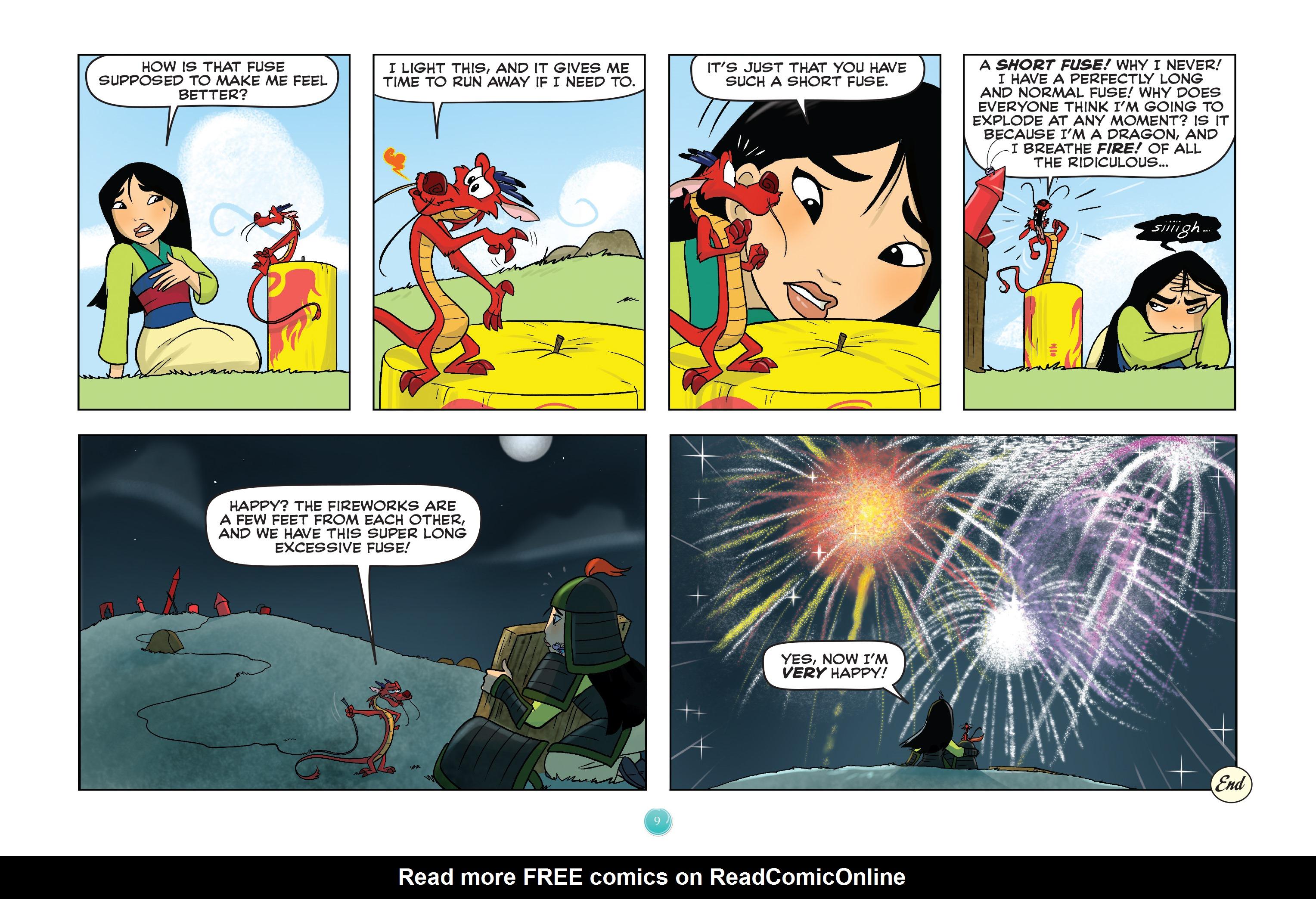 Read online Disney Princess comic -  Issue #7 - 12