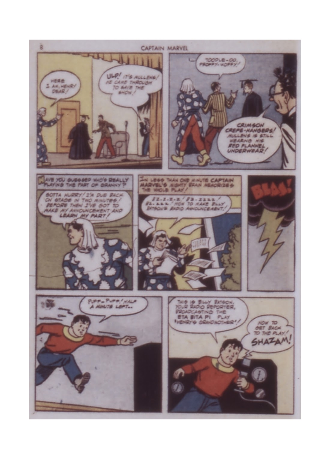 Captain Marvel Adventures issue 14 - Page 8