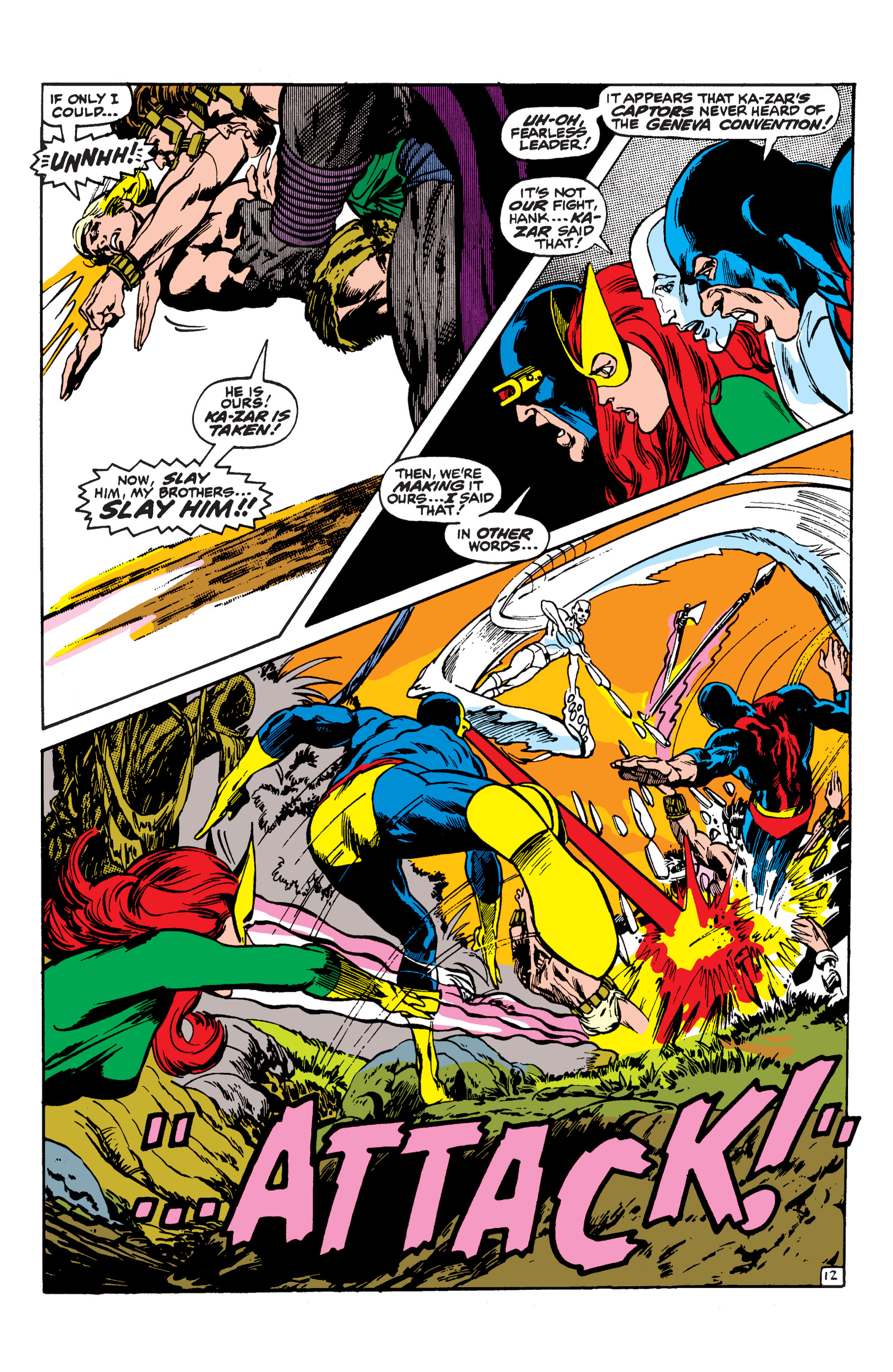 Uncanny X-Men (1963) 62 Page 12