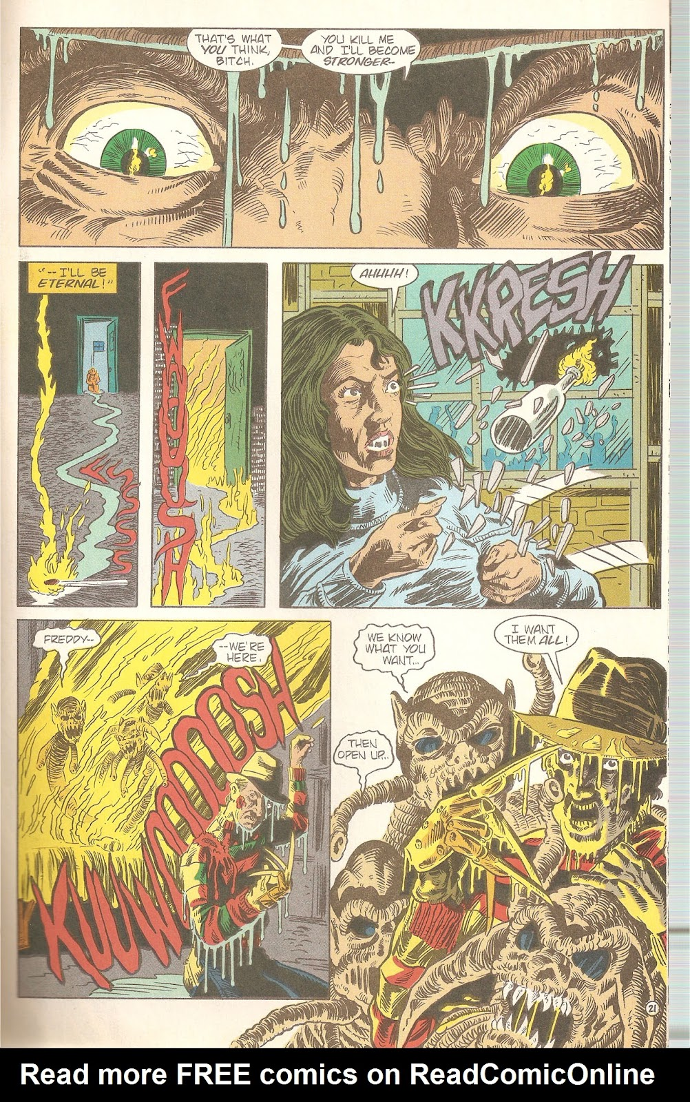 Read online A Nightmare on Elm Street: The Beginning comic -  Issue #2 - 23