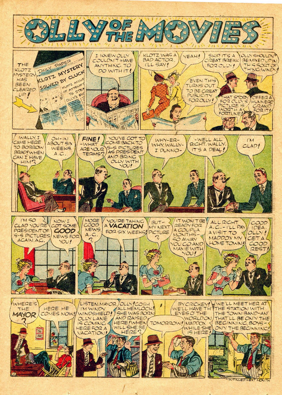 Read online Famous Funnies comic -  Issue #62 - 46