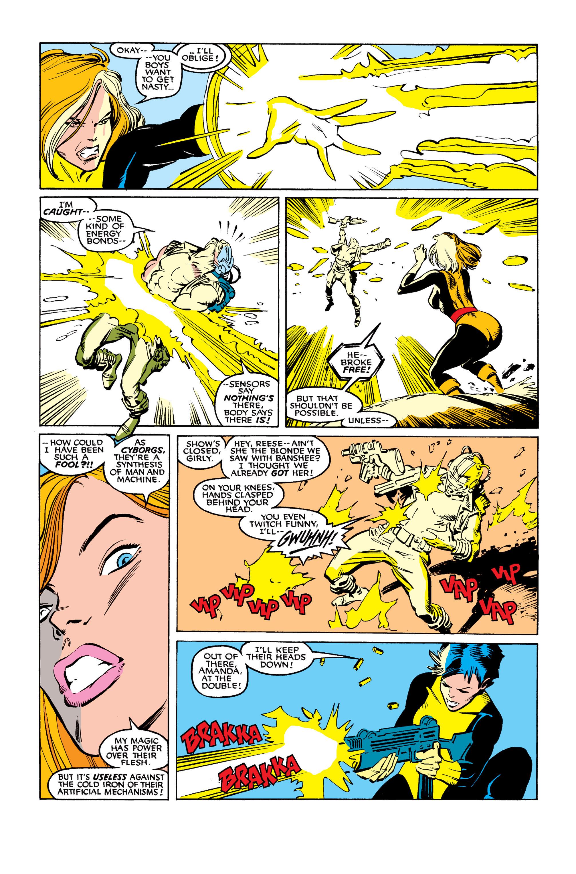Read online Uncanny X-Men (1963) comic -  Issue #254 - 20