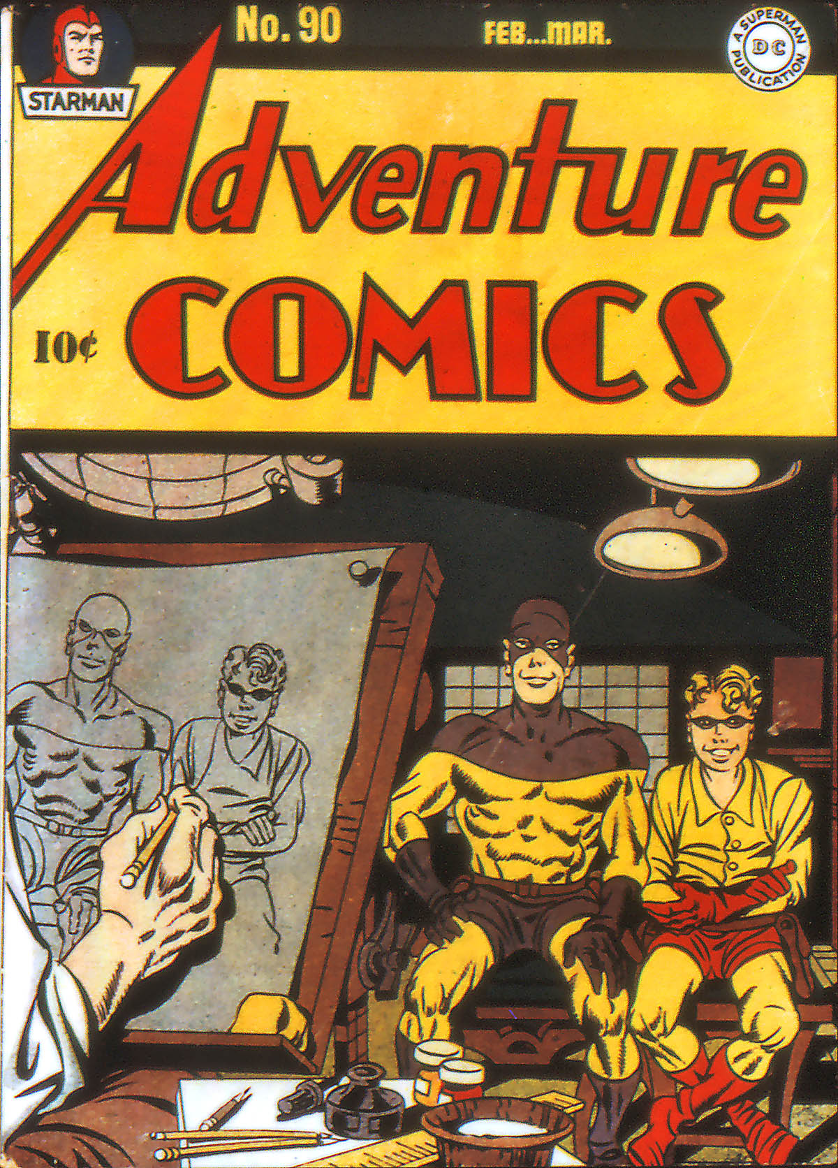 Read online Adventure Comics (1938) comic -  Issue #90 - 1
