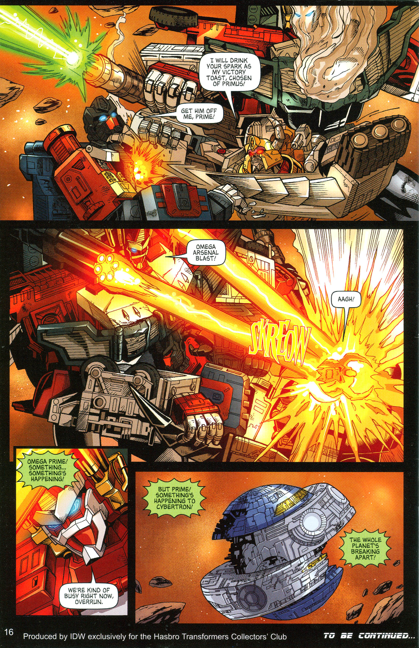 Read online Transformers: Collectors' Club comic -  Issue #11 - 16