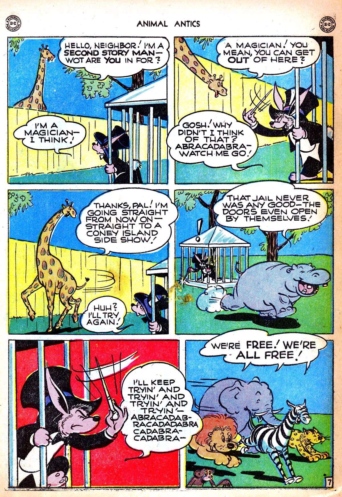 Read online Animal Antics comic -  Issue #6 - 9